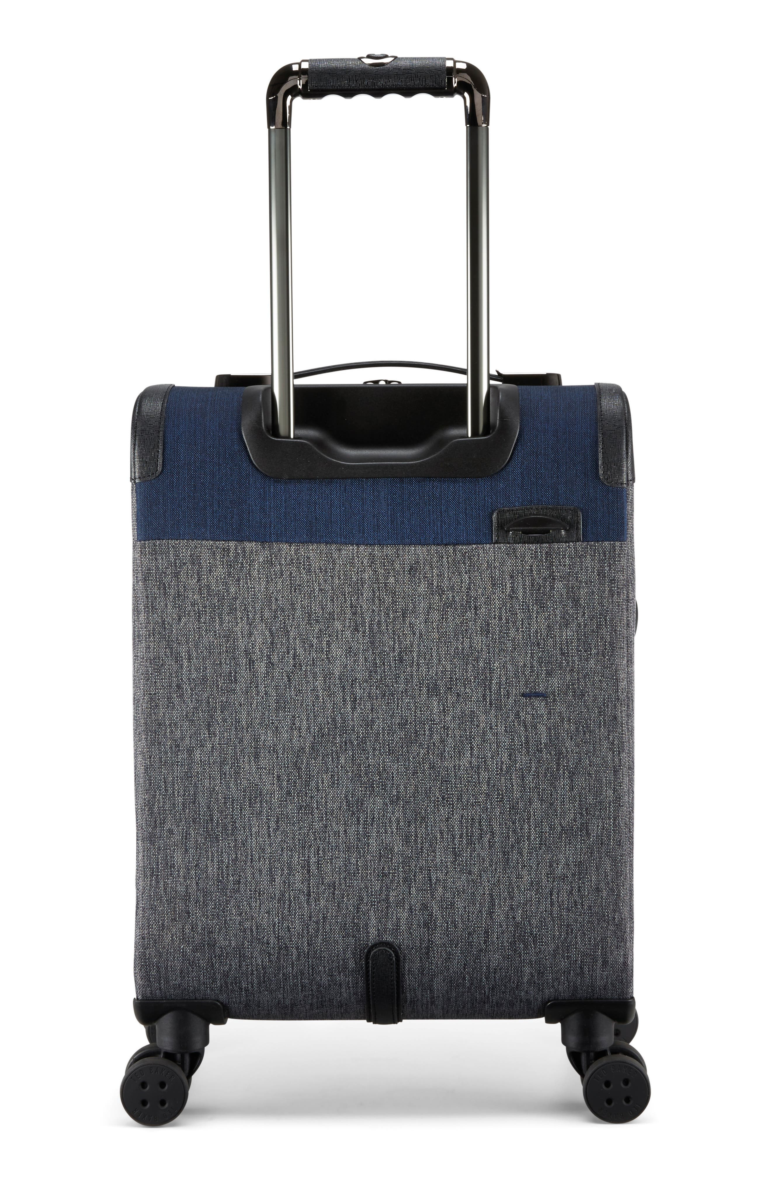 Brunswick 22-Inch Rolling Suitcase,                             Alternate thumbnail 2, color,                             Grey