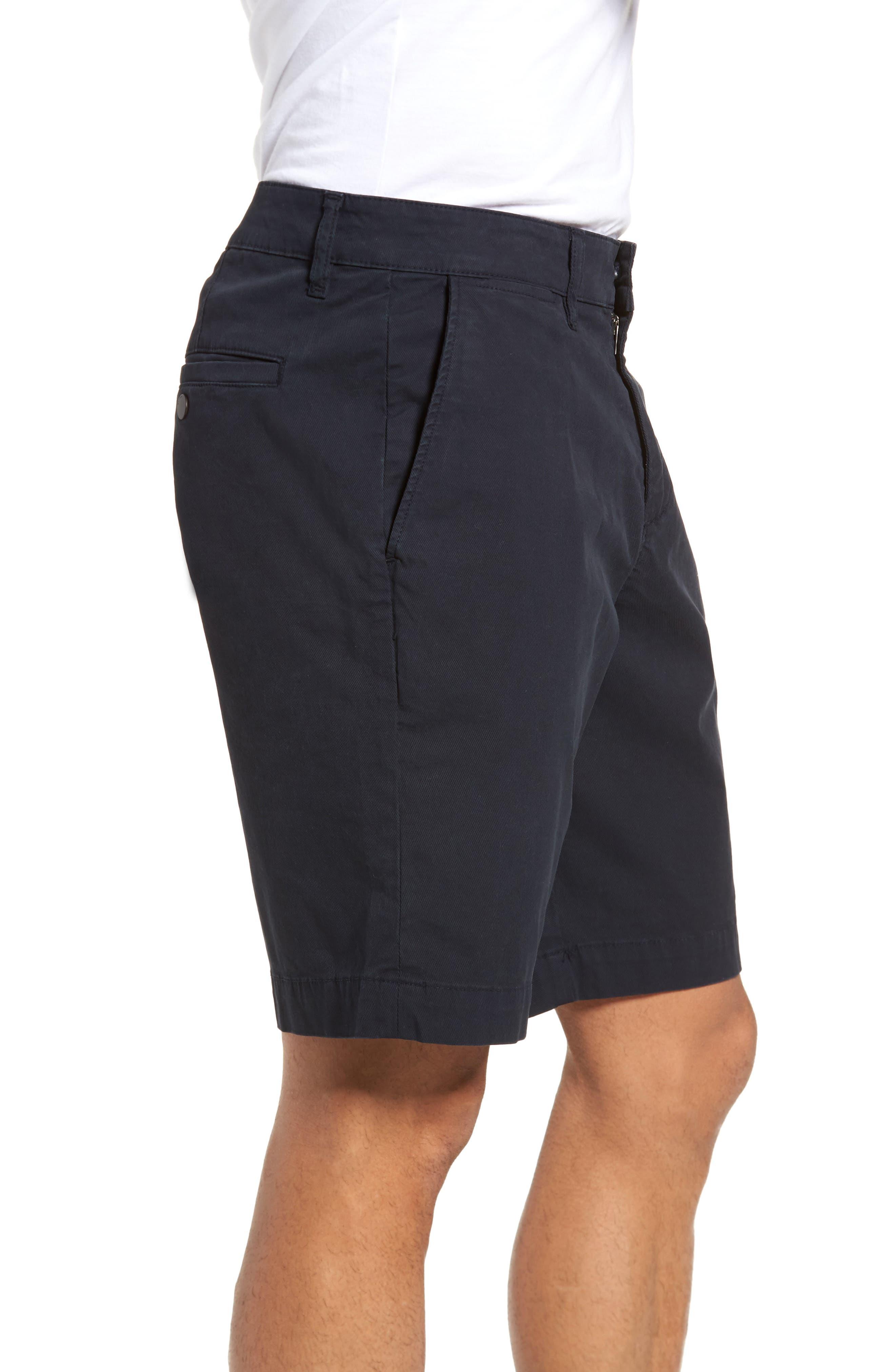 Jake Slim Fit Chino Shorts,                             Alternate thumbnail 3, color,                             Shroud