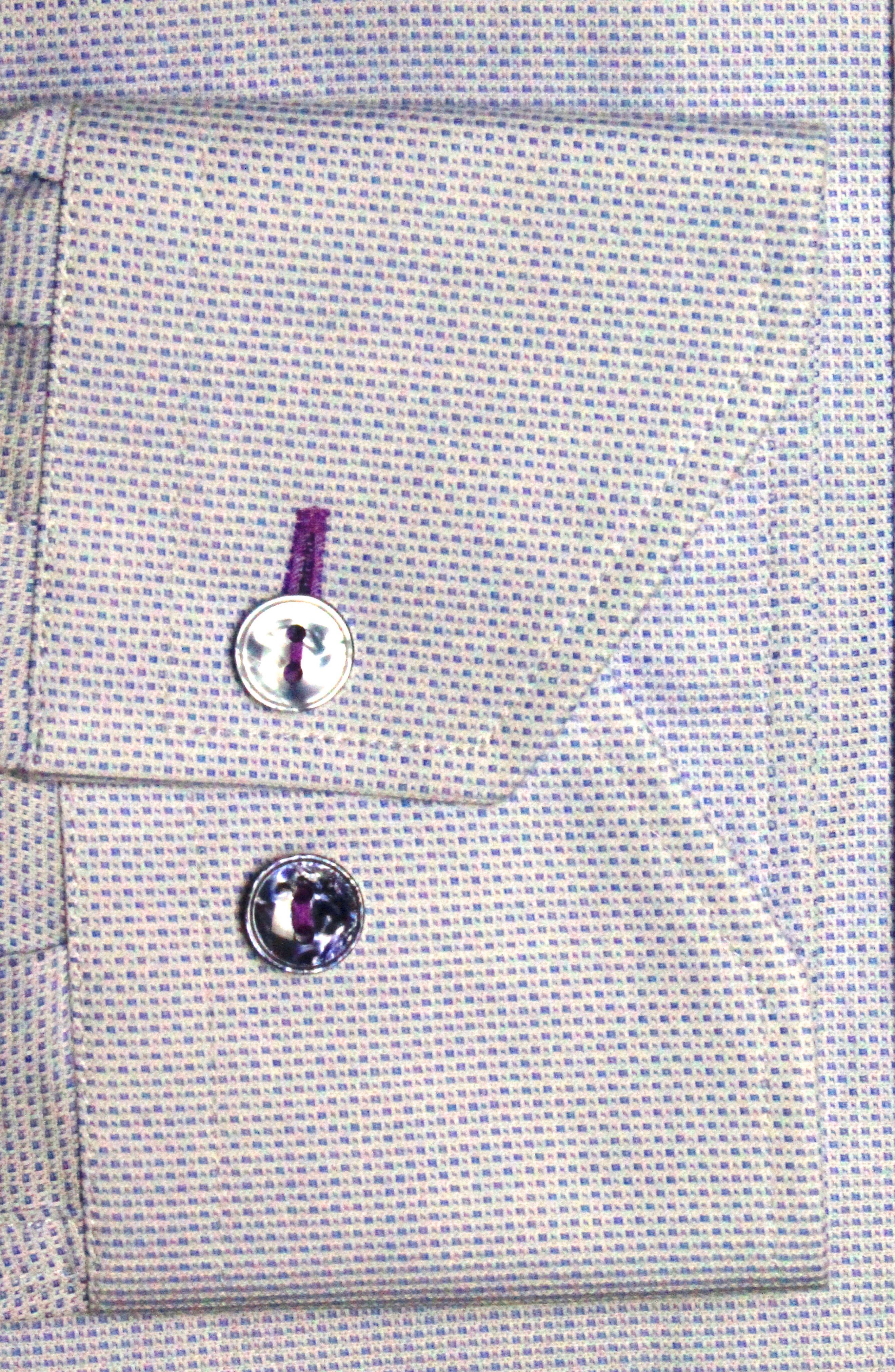 Trim Fit Solid Dress Shirt,                             Alternate thumbnail 2, color,                             Light Blue
