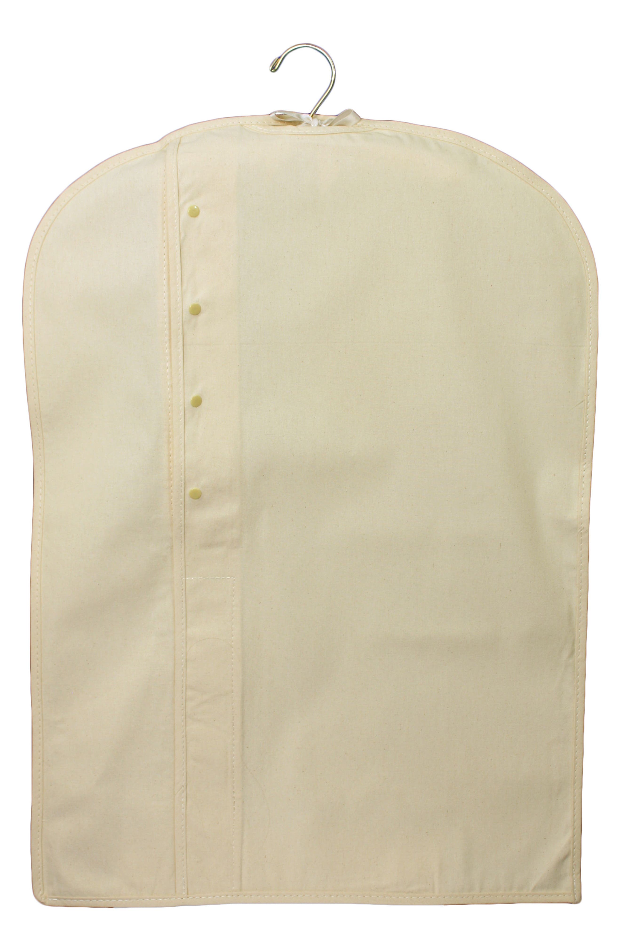 Heirloom Preservation Garment Bag,                             Alternate thumbnail 2, color,                             Ivory