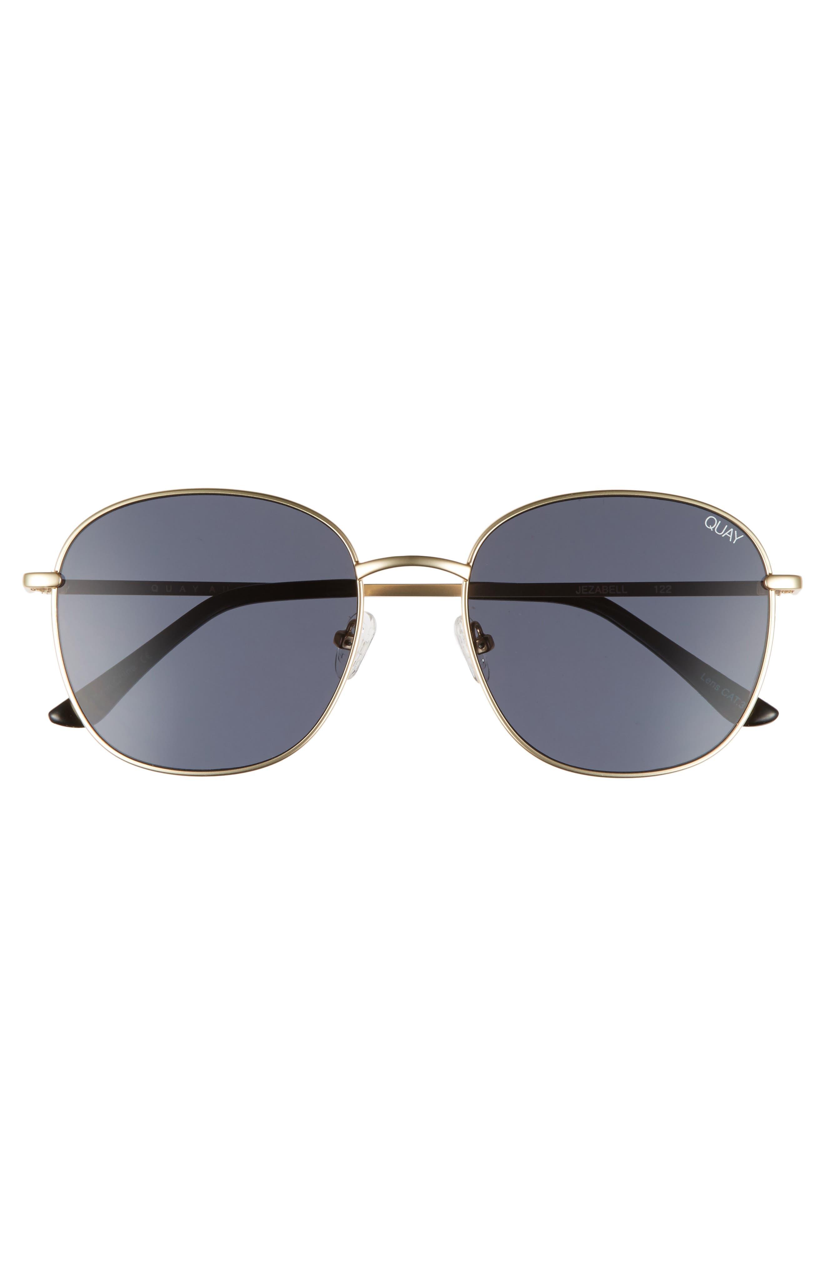 Alternate Image 7  - Quay Australia Jezabell 57mm Round Sunglasses