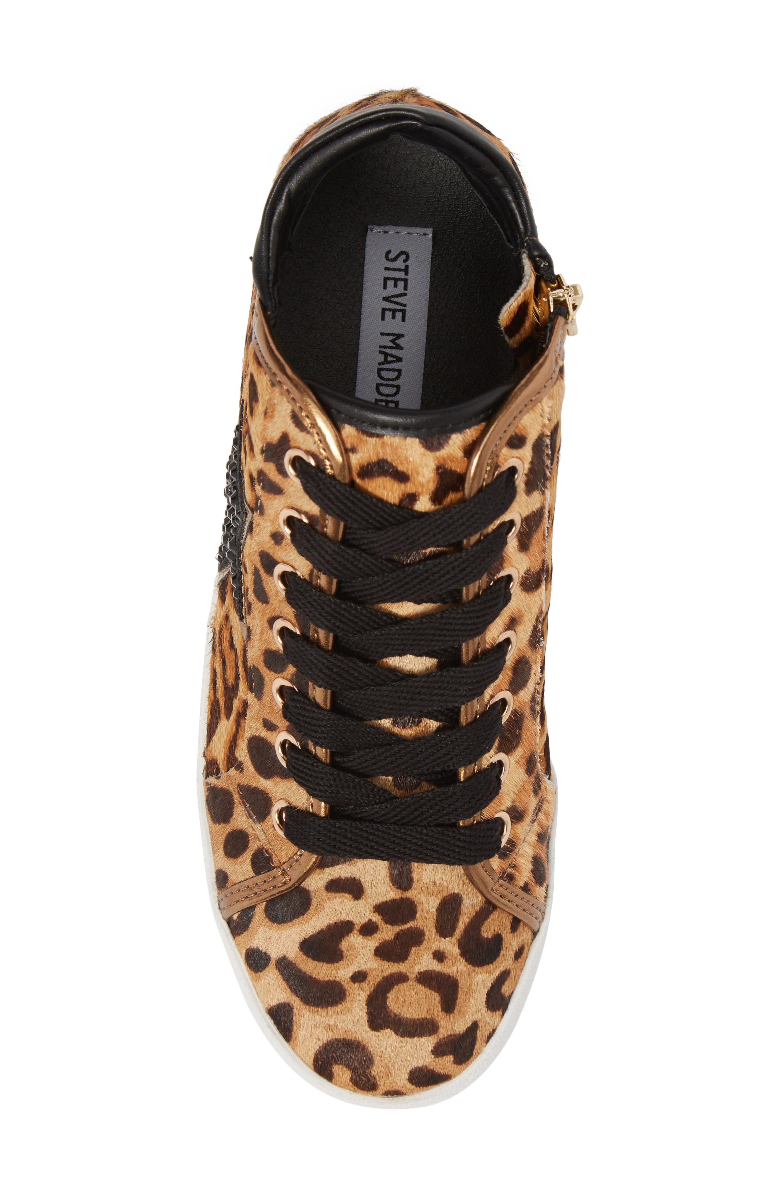 Savior Star Sneaker,                             Alternate thumbnail 5, color,                             Leopard Multi