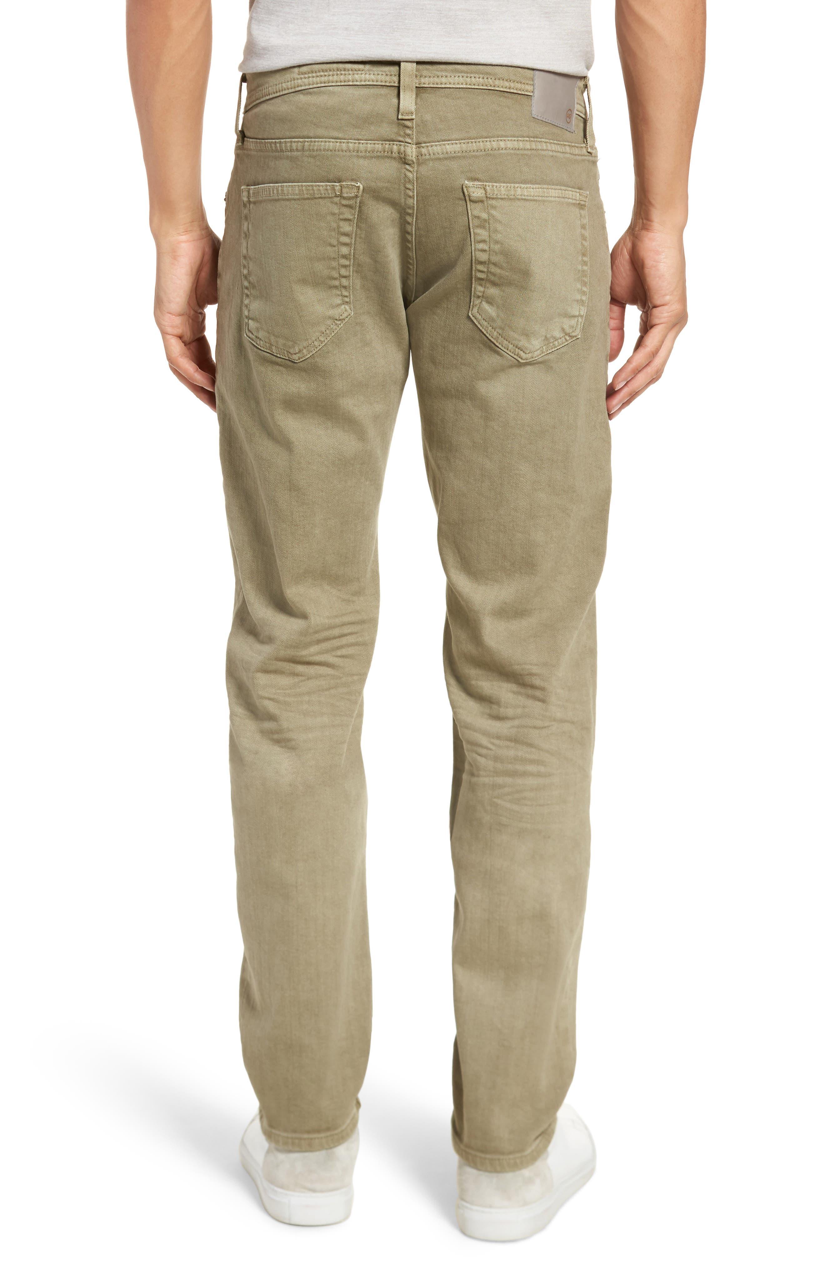 Alternate Image 2  - AG Tellis Slim Fit Jeans (7 Years Dry Cypress)
