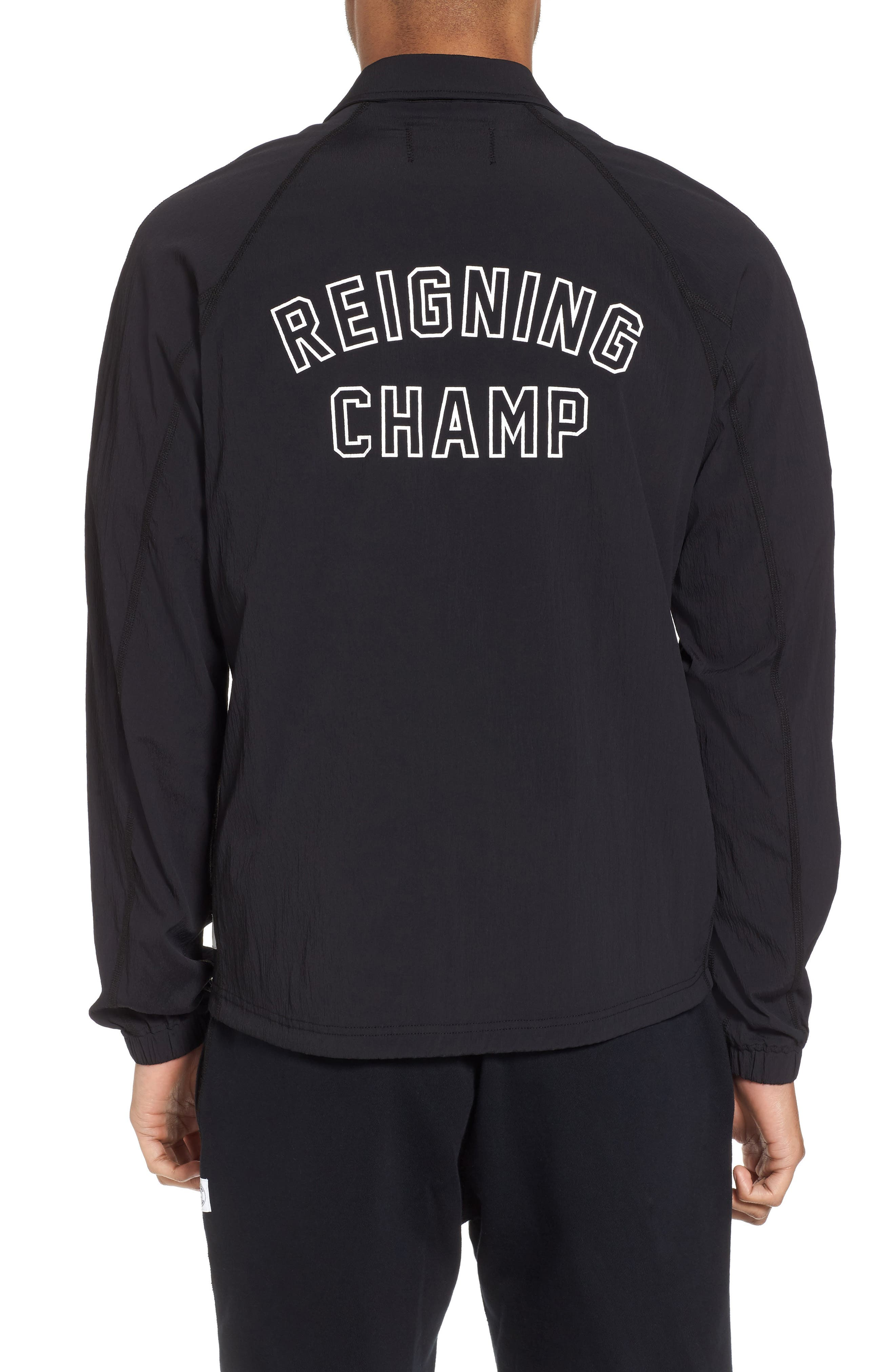 Coach's Jacket,                             Alternate thumbnail 2, color,                             Black