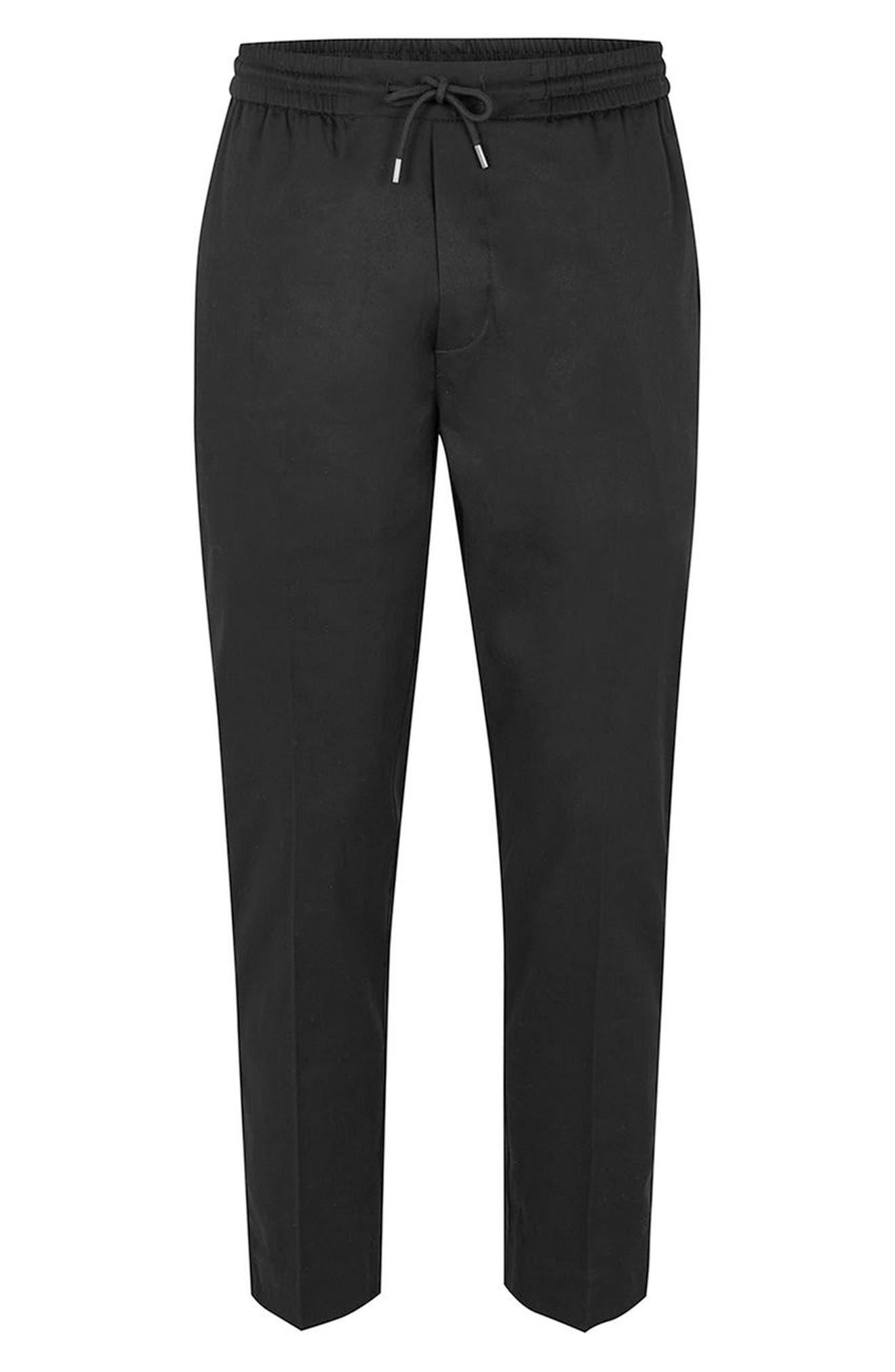 Jazzy Side Stripe Jogger Pants,                             Alternate thumbnail 4, color,                             Black Multi