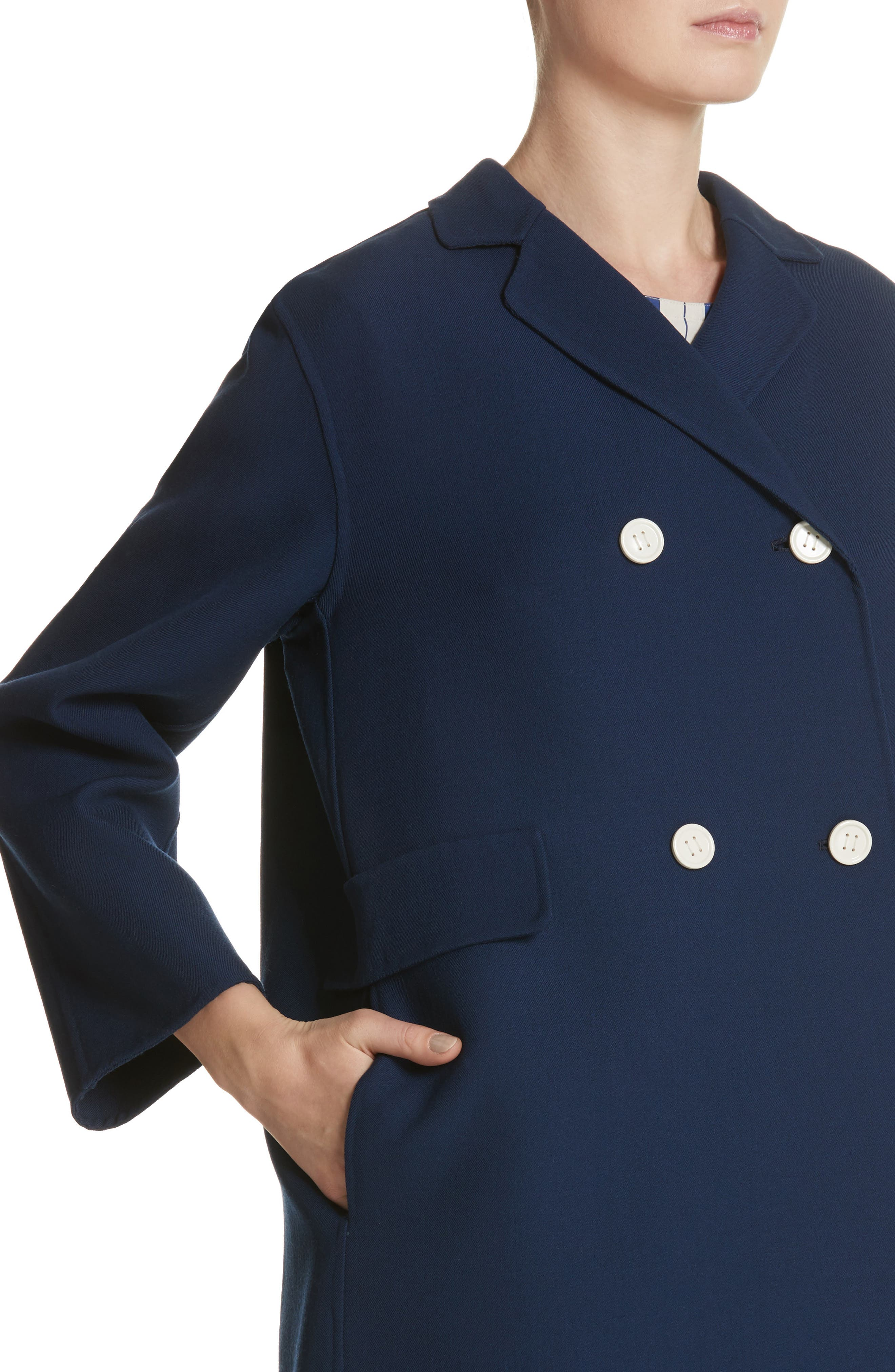 Contrast Button Peacoat,                             Alternate thumbnail 4, color,                             Navy