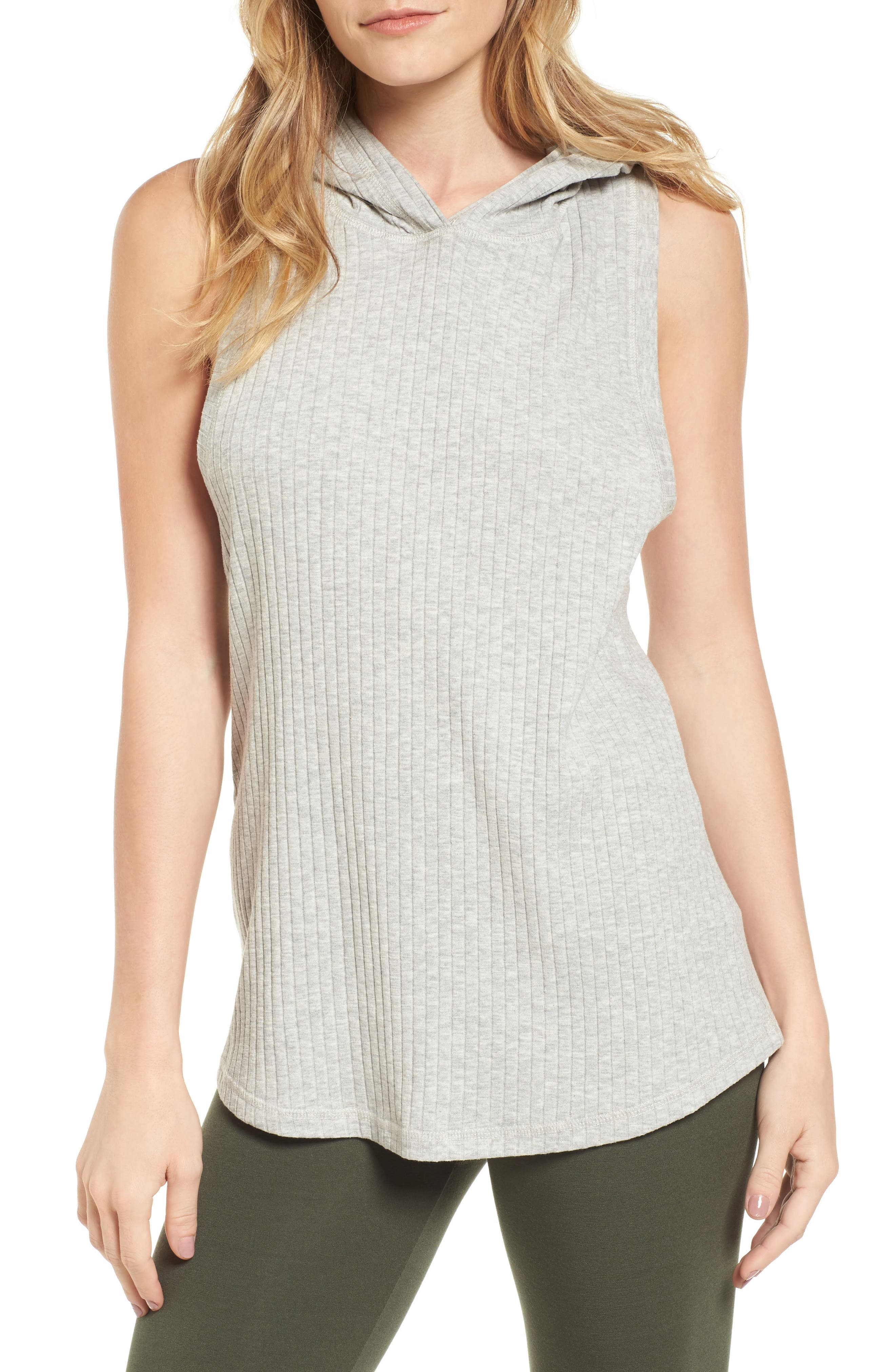 Alternate Image 1 Selected - IVY PARK® Hooded Rib Knit Tank