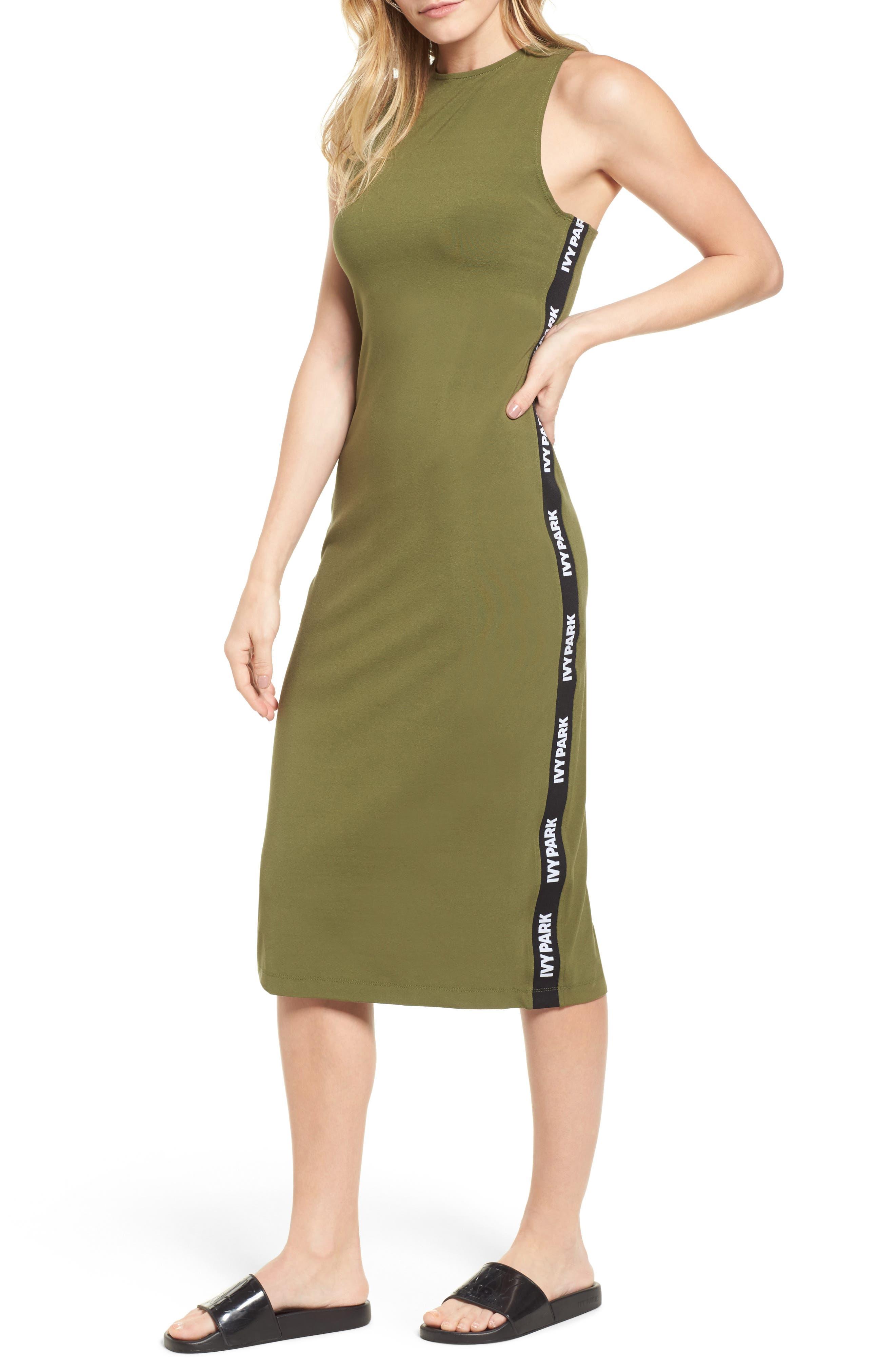 Main Image - IVY PARK® Logo Tape Dress