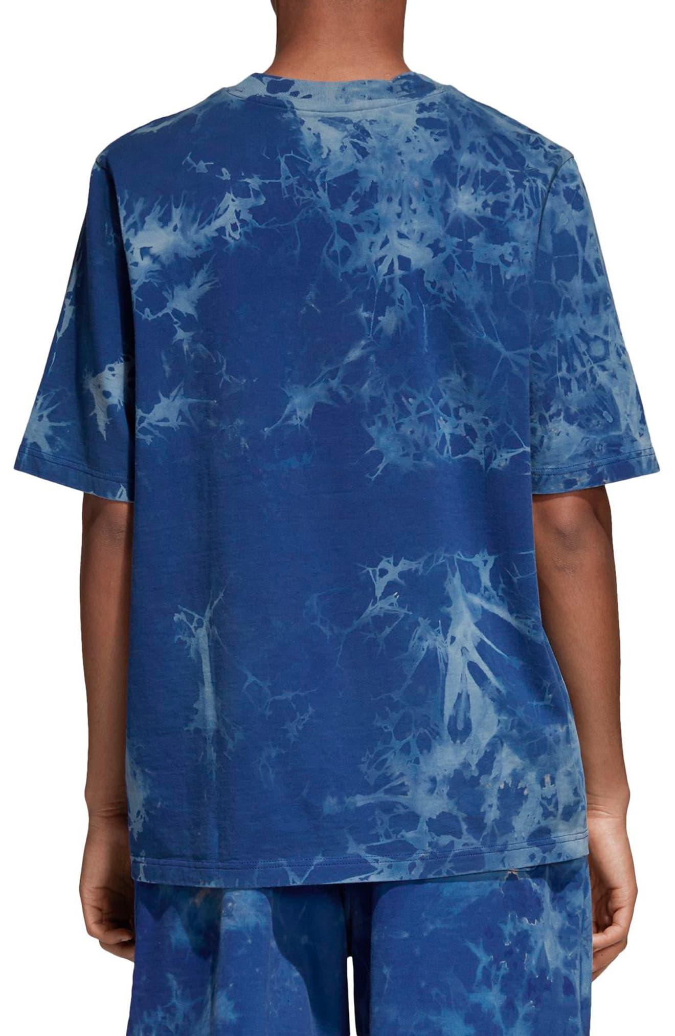 Tie Dye T-Shirt,                             Alternate thumbnail 2, color,                             Legend Ink