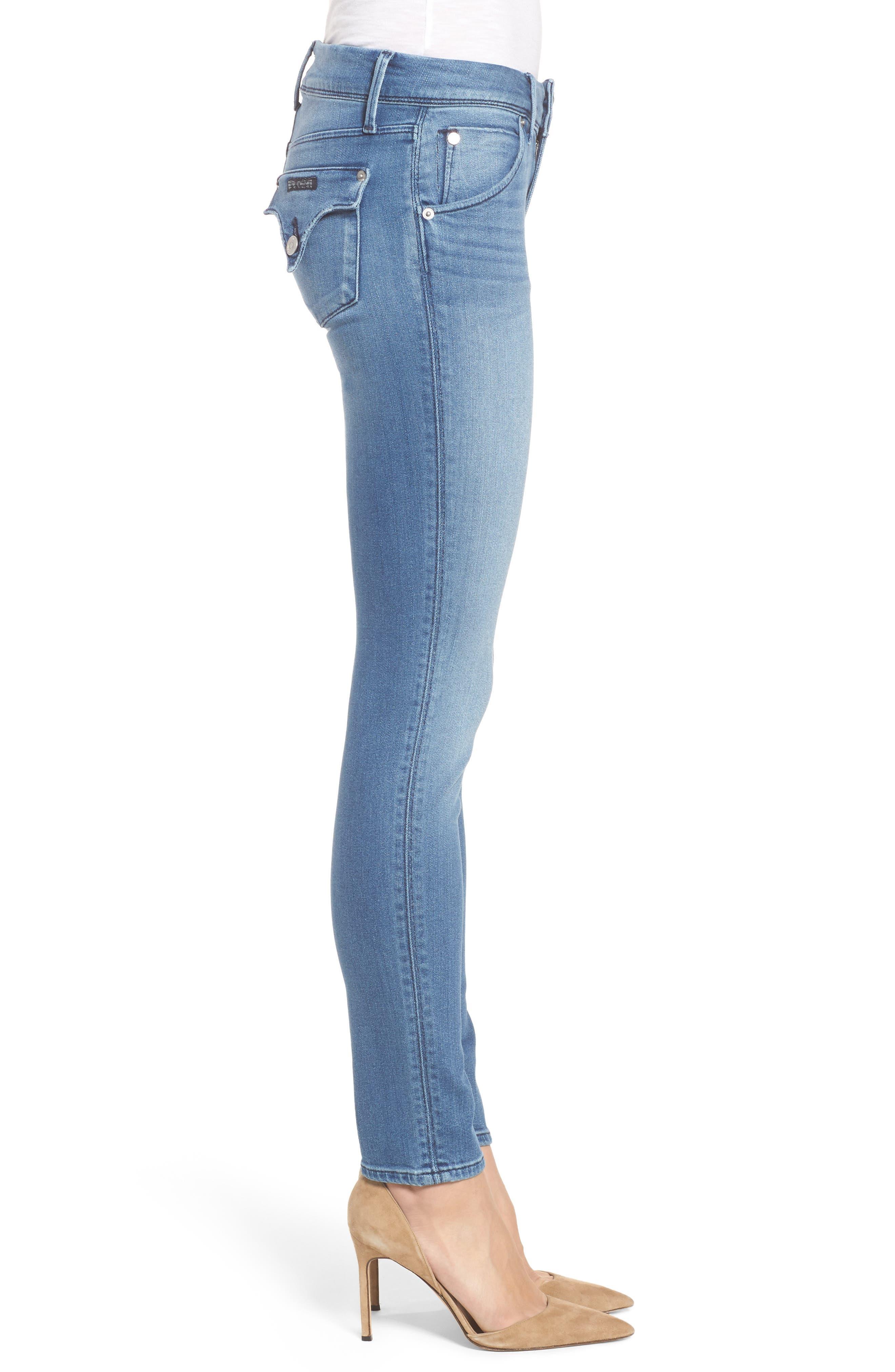 Alternate Image 3  - Hudson Jeans Collin Skinny Jeans (Sentimental)