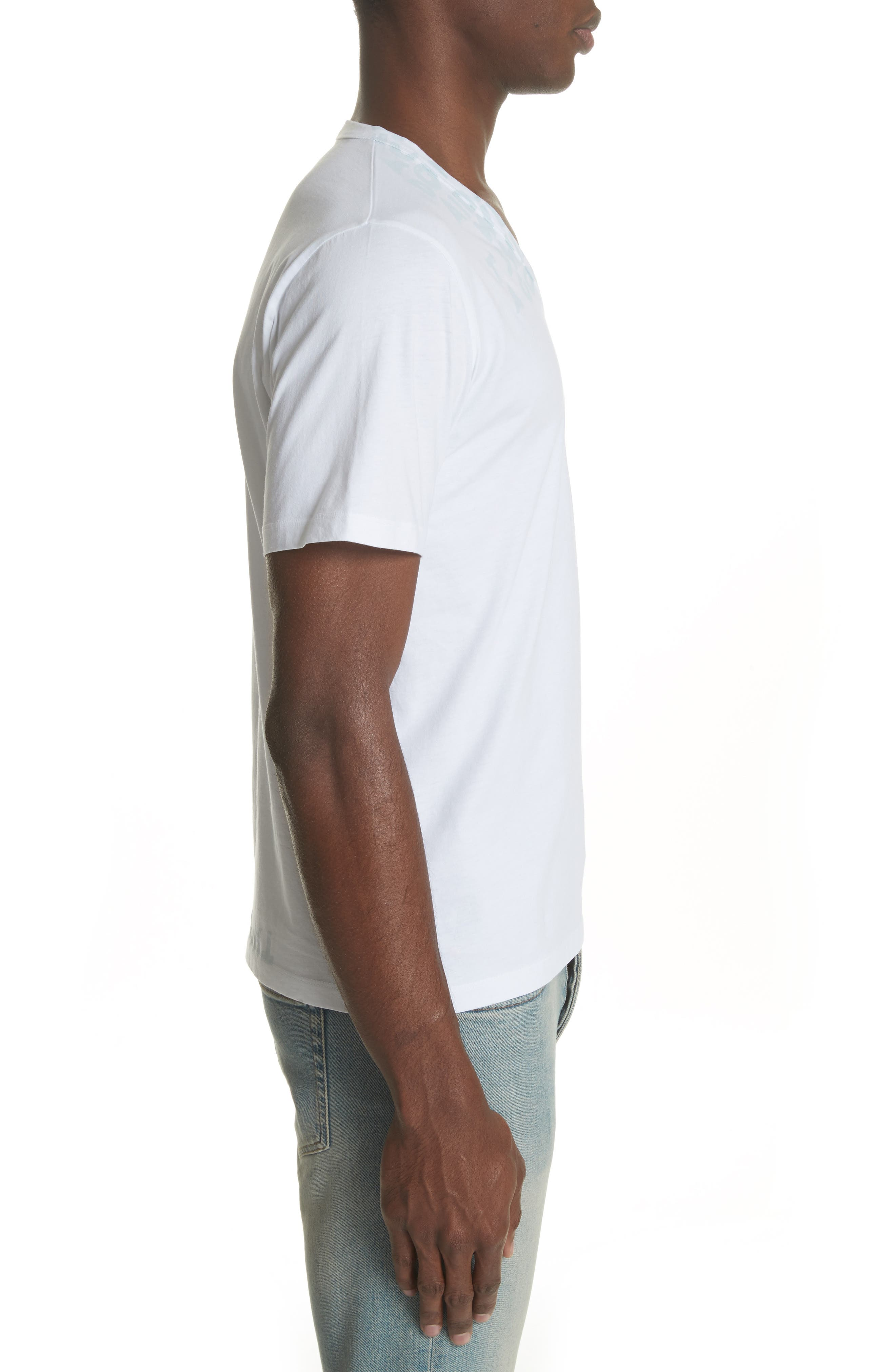 Alternate Image 3  - Maison Margiela V-Neck T-Shirt