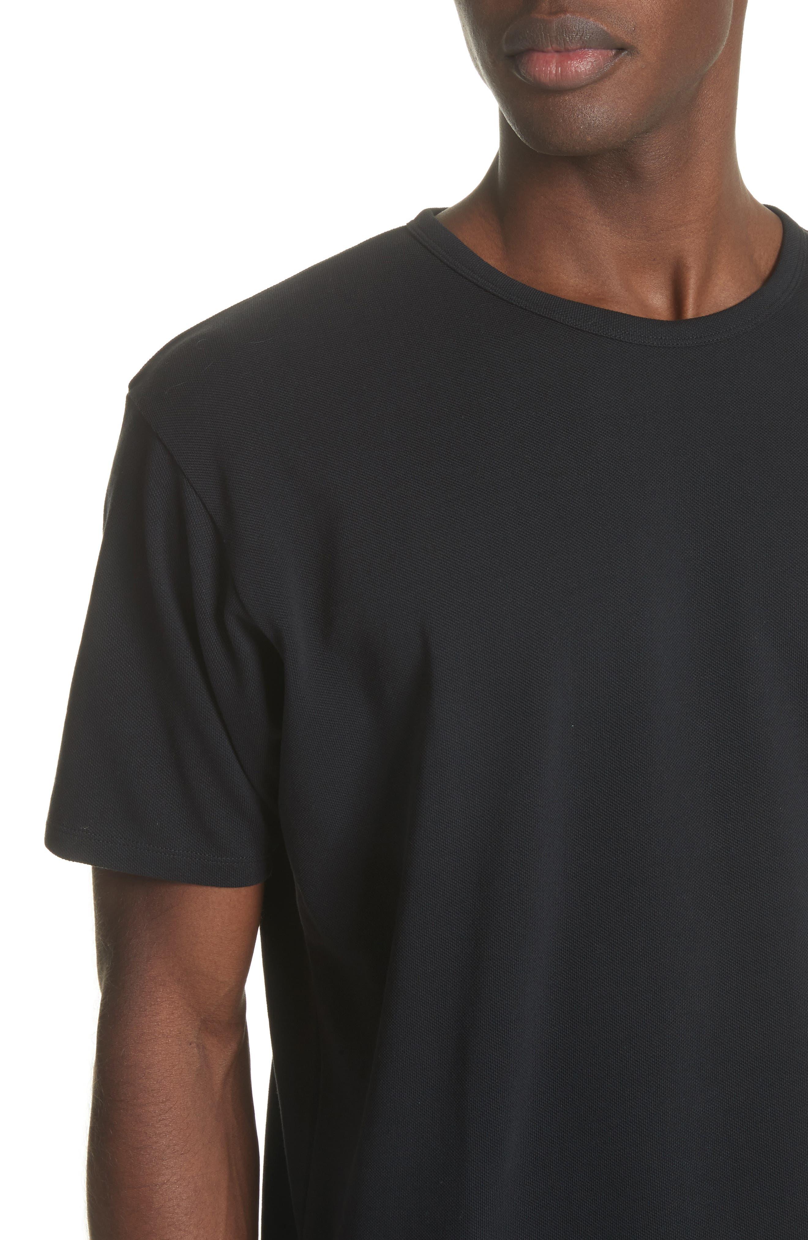 Niagara Crewneck T-Shirt,                             Alternate thumbnail 4, color,                             Black