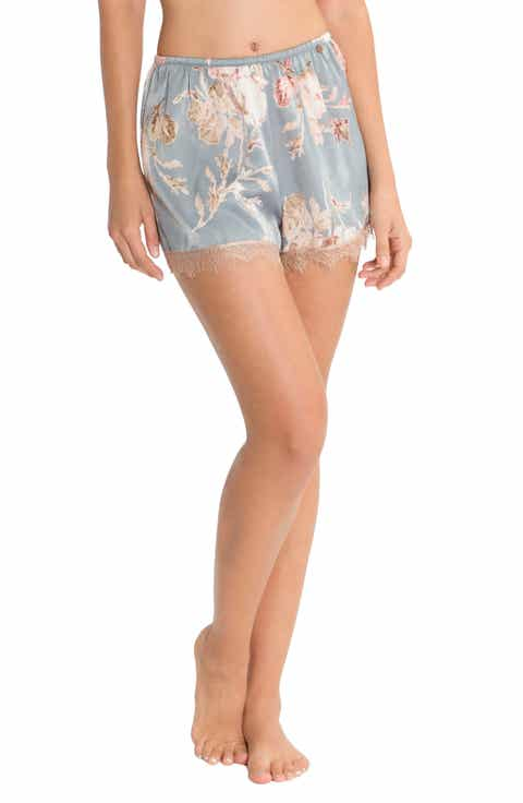Midnight Bakery Satin Pajama Shorts