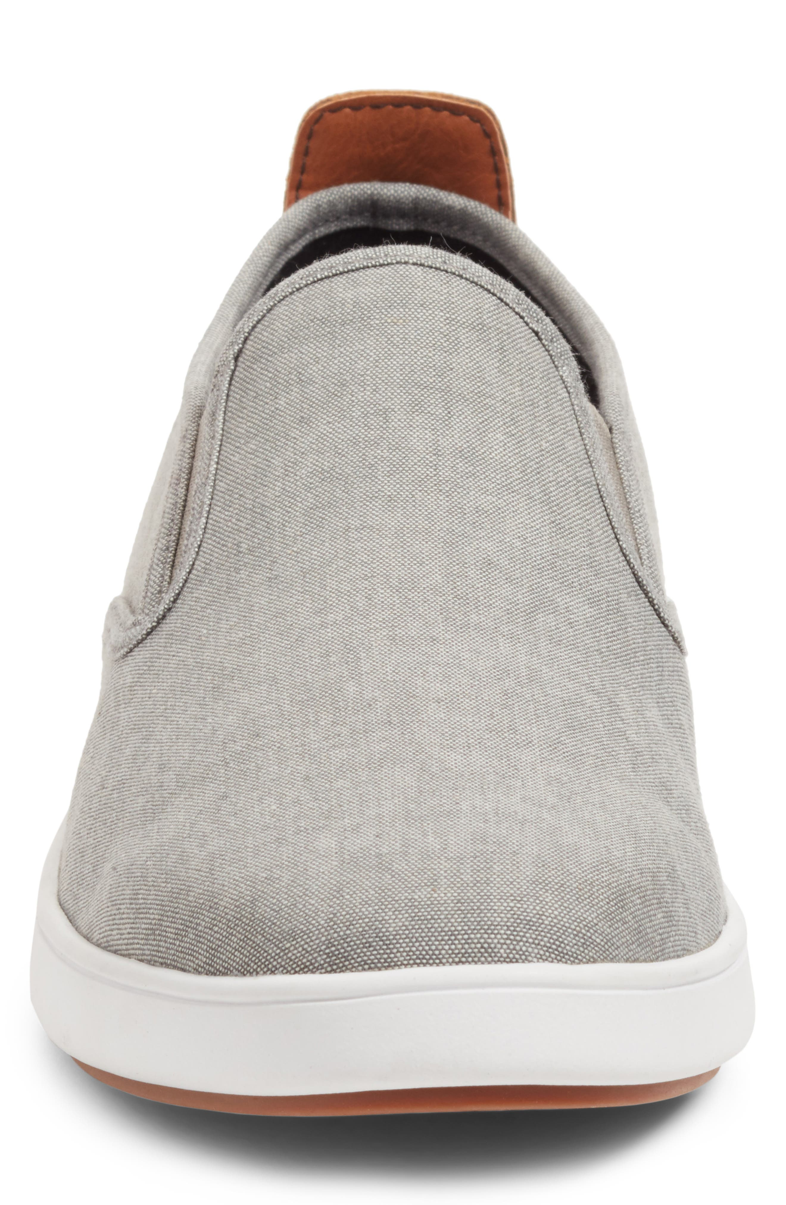 Felix Slip-On Sneaker,                             Alternate thumbnail 4, color,                             Grey