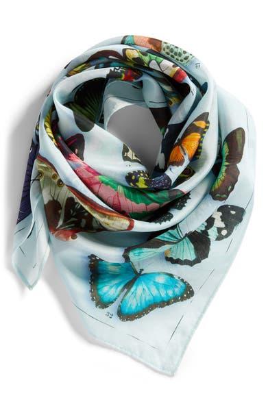 Main Image - Nordstrom Print Silk Scarf