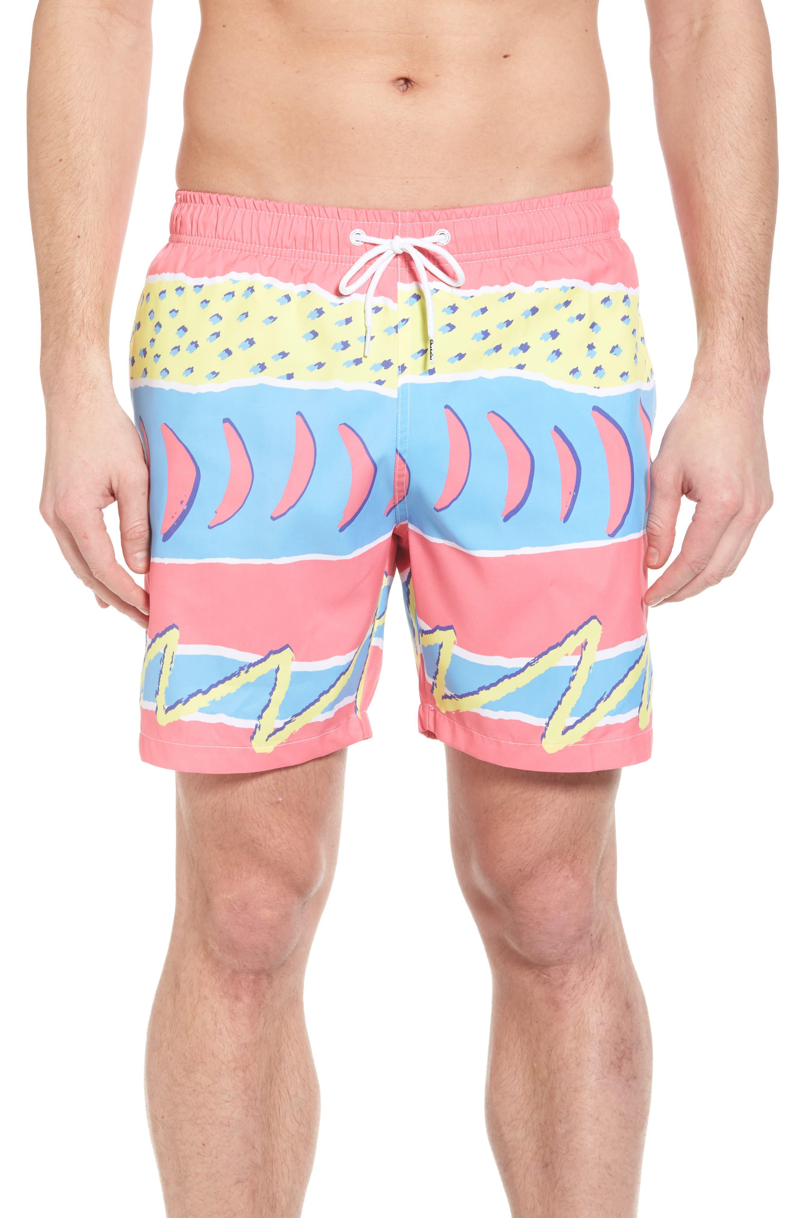 Fresh Prince Board Shorts,                             Main thumbnail 1, color,                             Multi