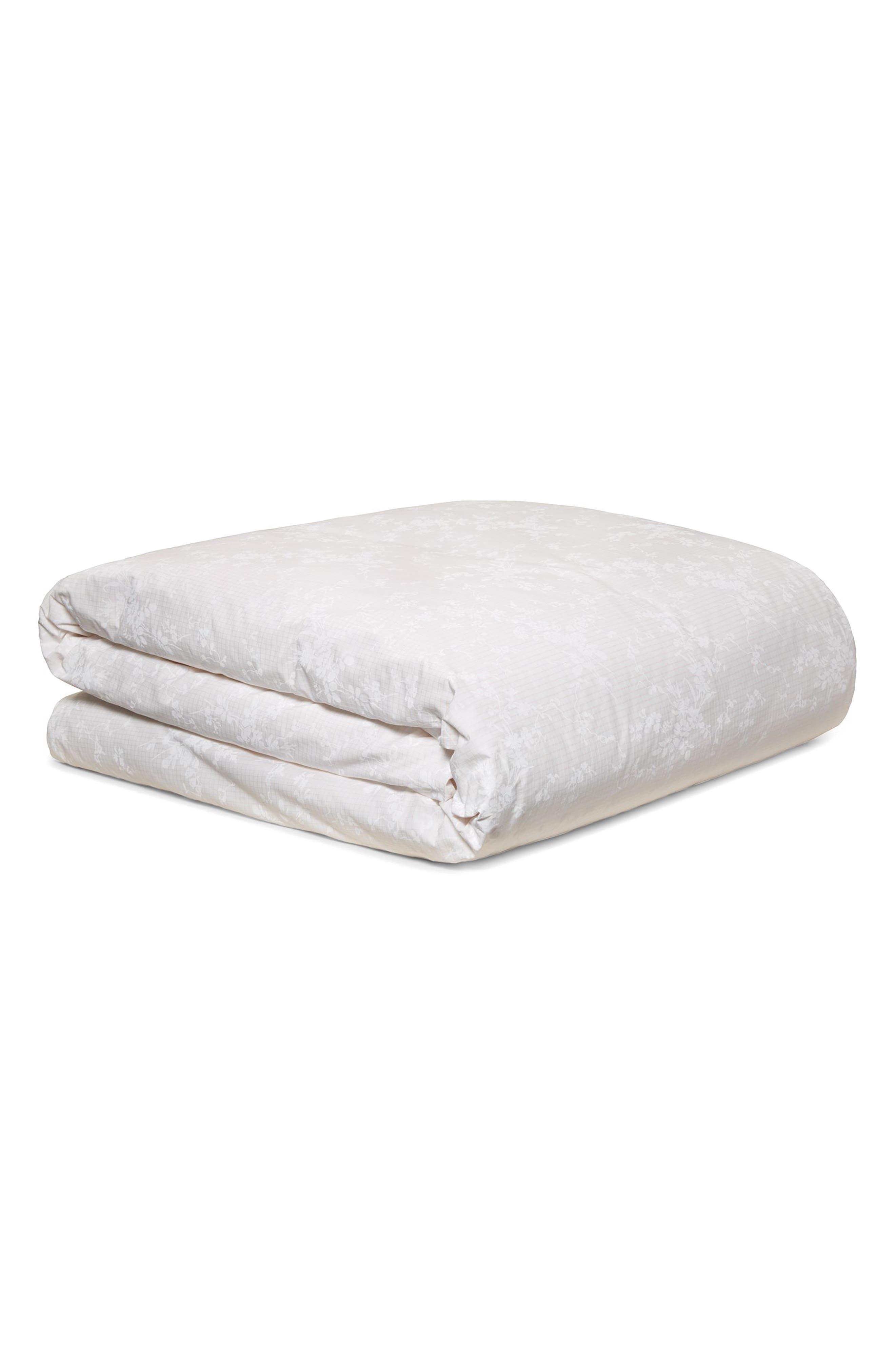 Rosamund Duvet Cover,                         Main,                         color, White