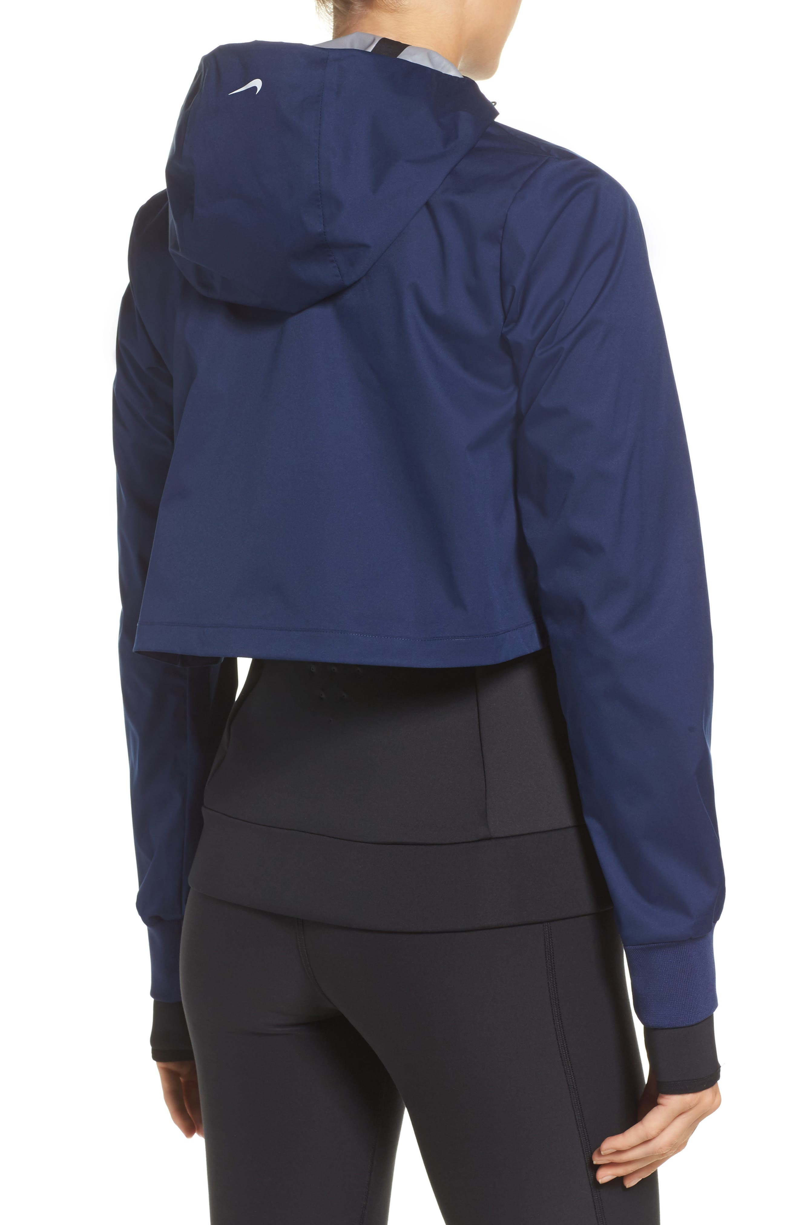 Therma Shield 2-in-1 Training Jacket,                             Alternate thumbnail 3, color,                             Binary Blue/ Black/ White