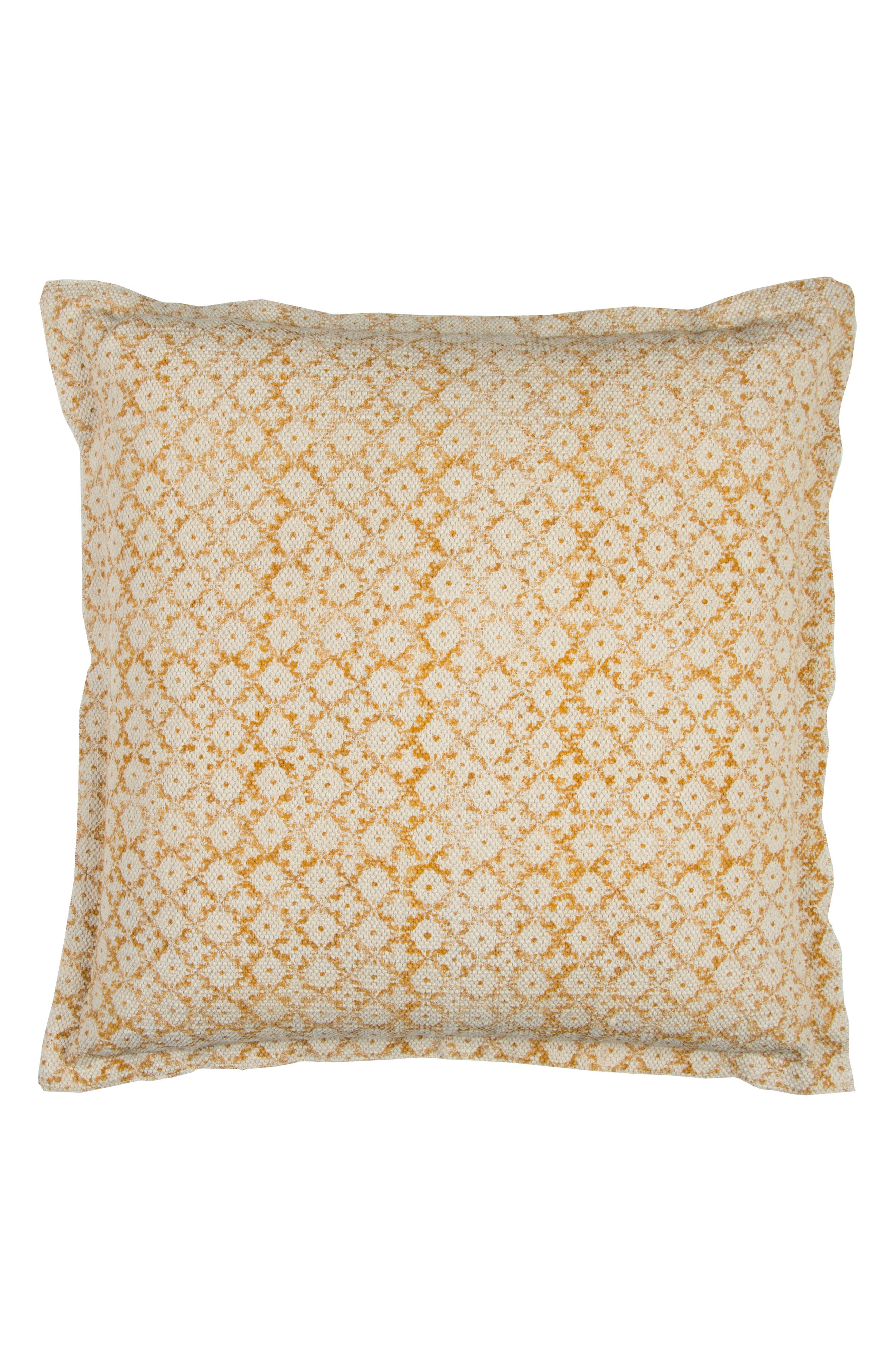 Geometric Accent Pillow,                             Main thumbnail 1, color,                             Natural