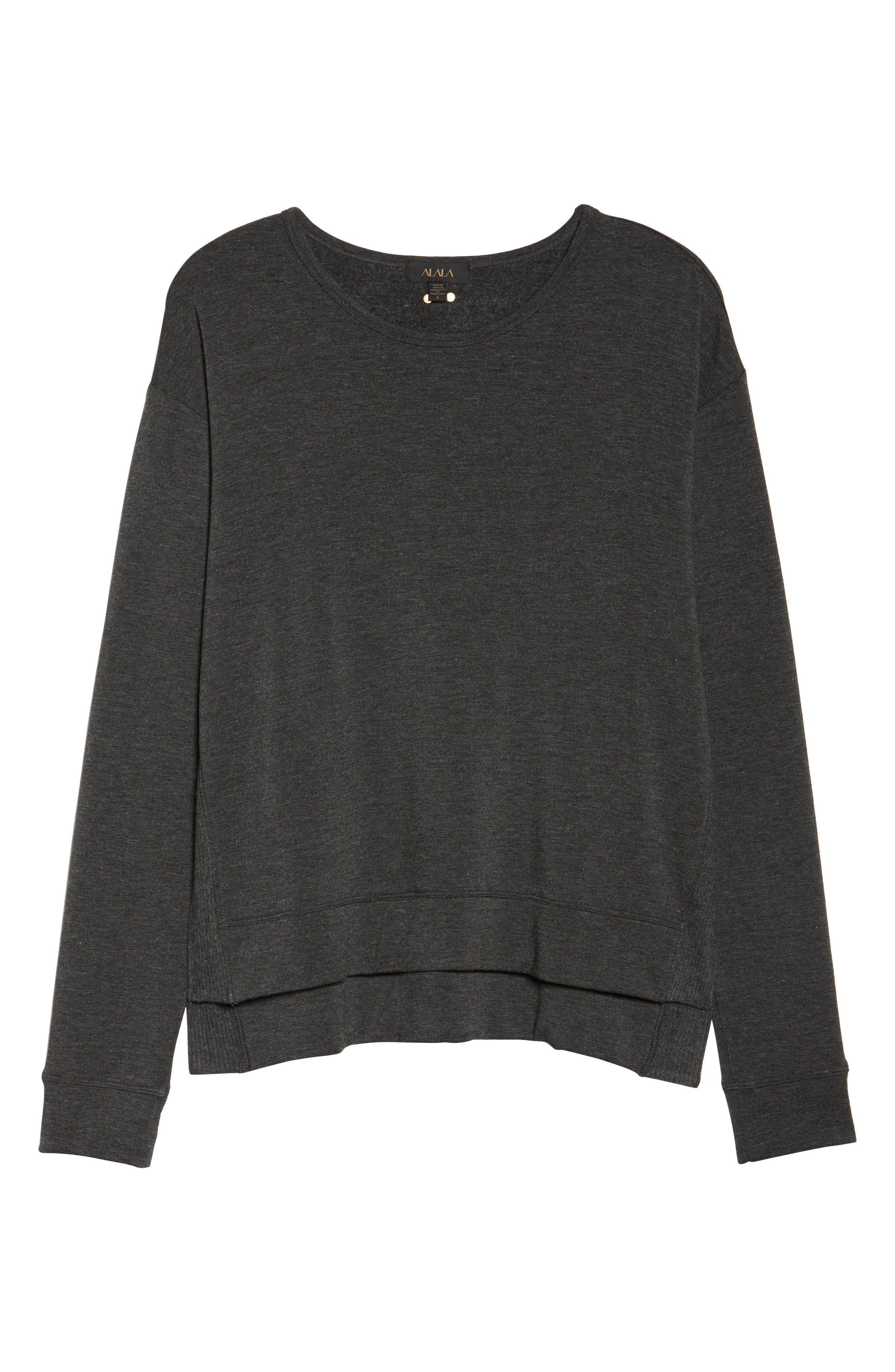 Crane Sweatshirt,                             Alternate thumbnail 6, color,                             Charcoal