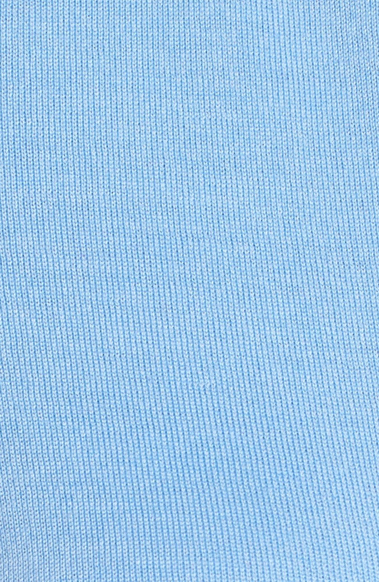 Fuyuma Wool Cardigan,                             Alternate thumbnail 5, color,                             Blue Sky