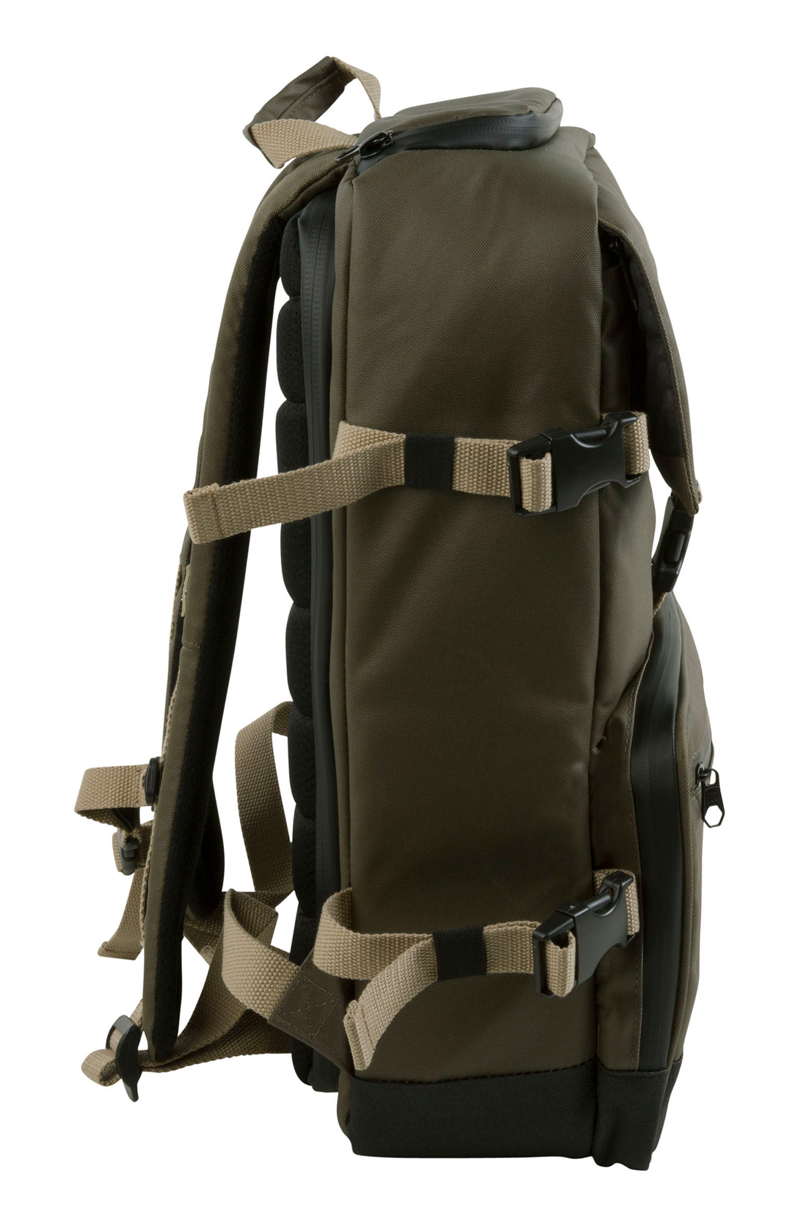 DSLR Camera Backpack,                             Alternate thumbnail 6, color,                             Olive