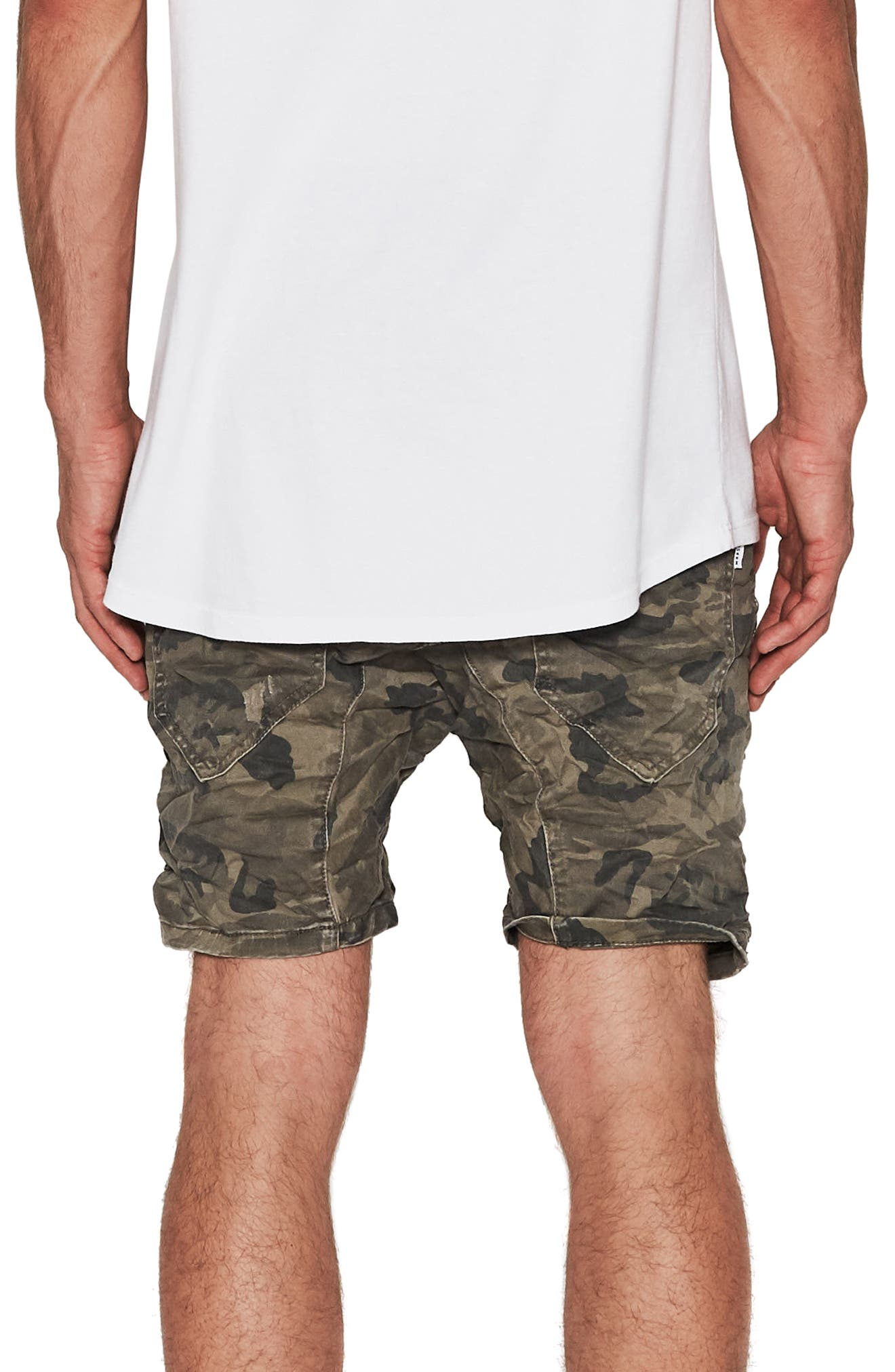 Destroyer Shorts,                             Alternate thumbnail 3, color,                             Airwolf Camo