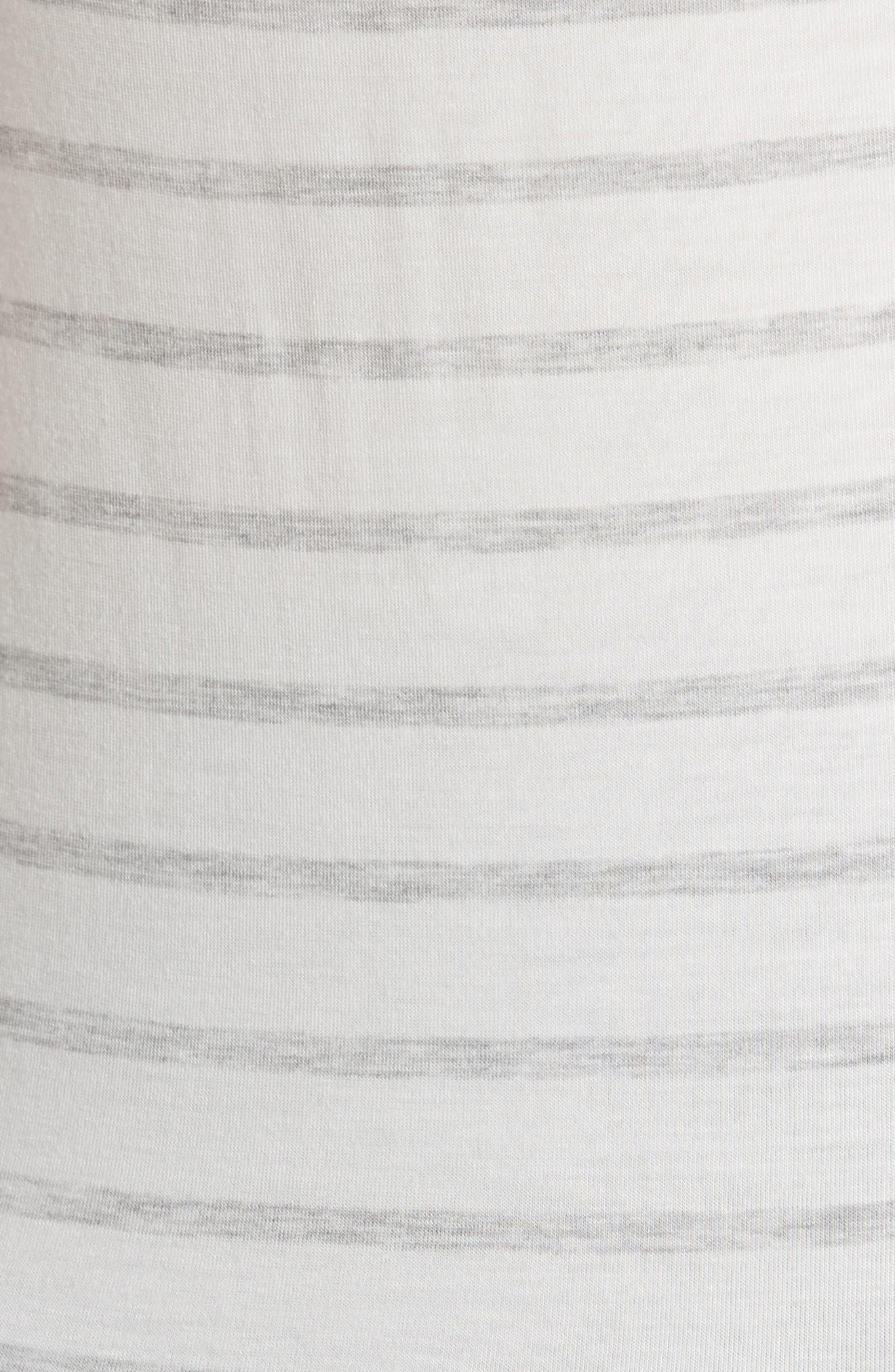 Stripe Scoop Neck Tank Top,                             Alternate thumbnail 5, color,                             333-Milk/ Nacre Chine