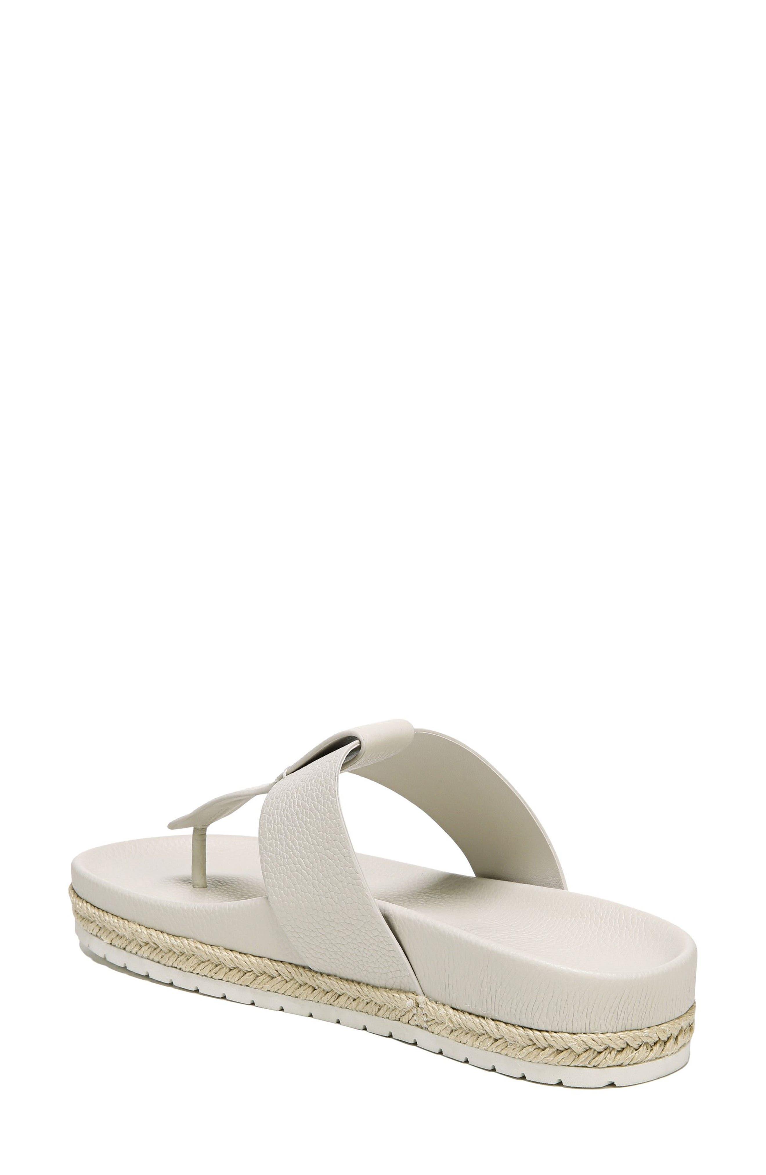Avani T-Strap Flat Sandal,                             Alternate thumbnail 2, color,                             Oyster