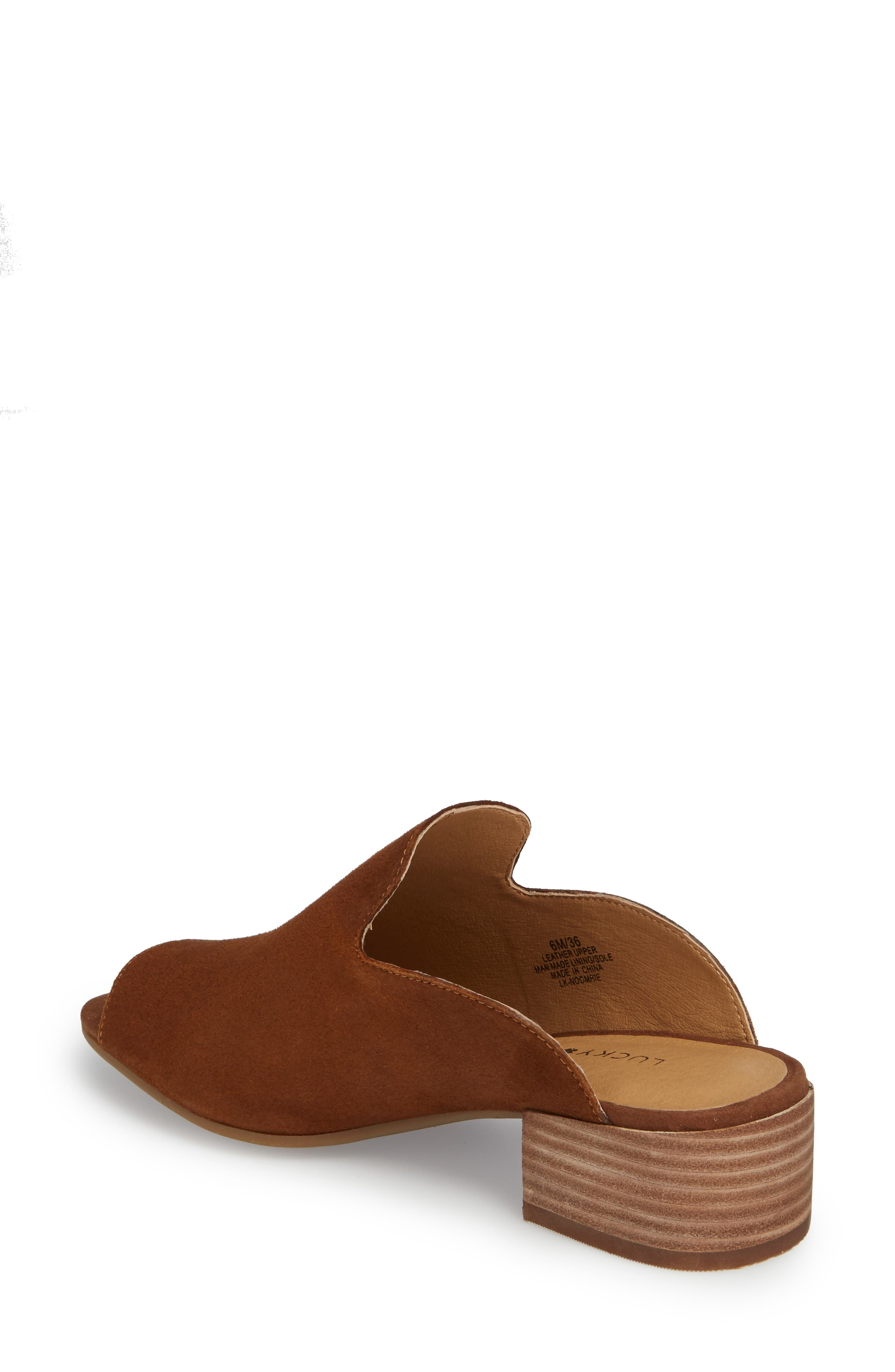 Noomrie Sandal,                             Alternate thumbnail 2, color,                             Cedar Leather