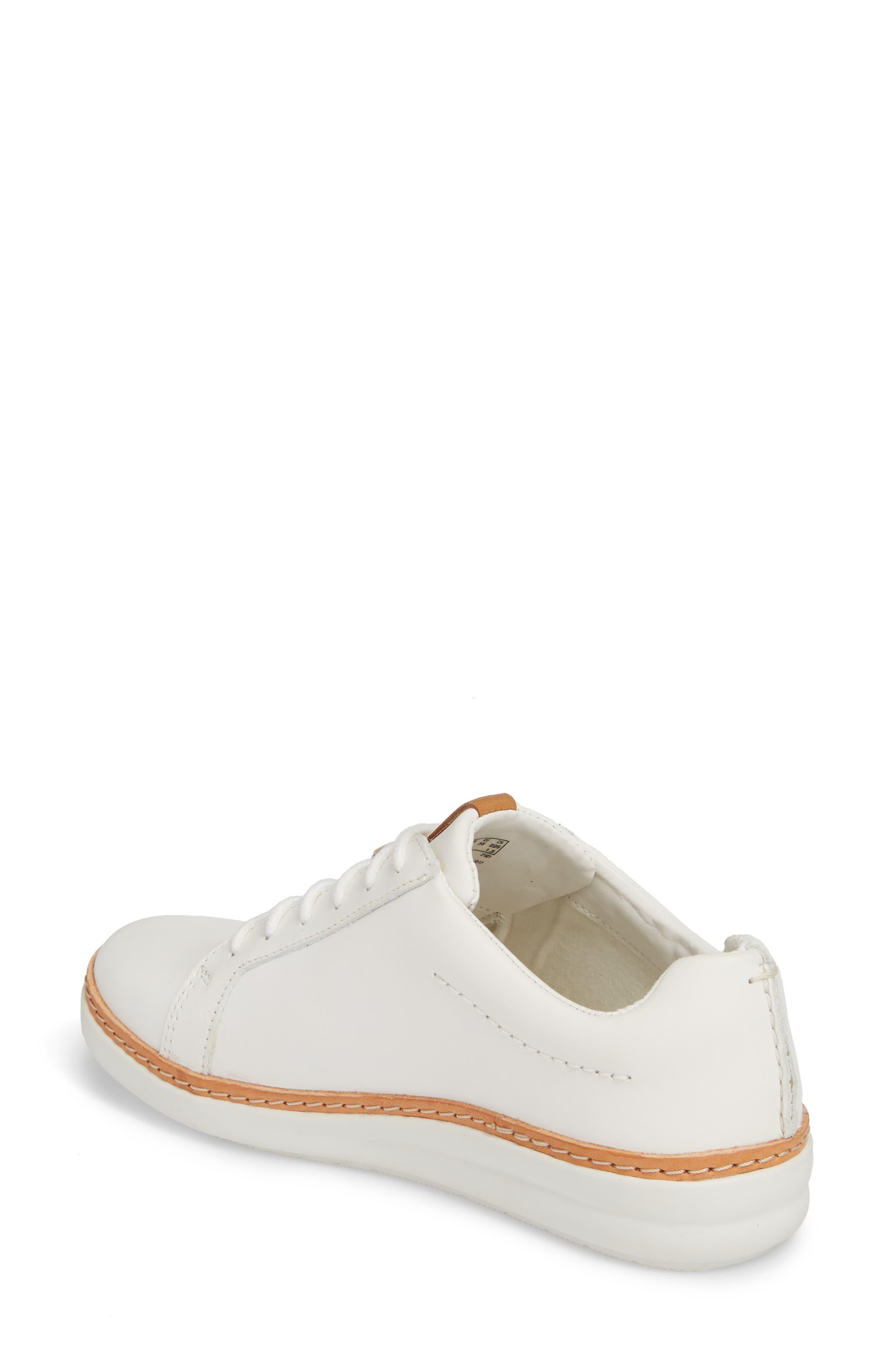 Alternate Image 2  - Clarks® Amberlee Rosa Sneaker (Women)
