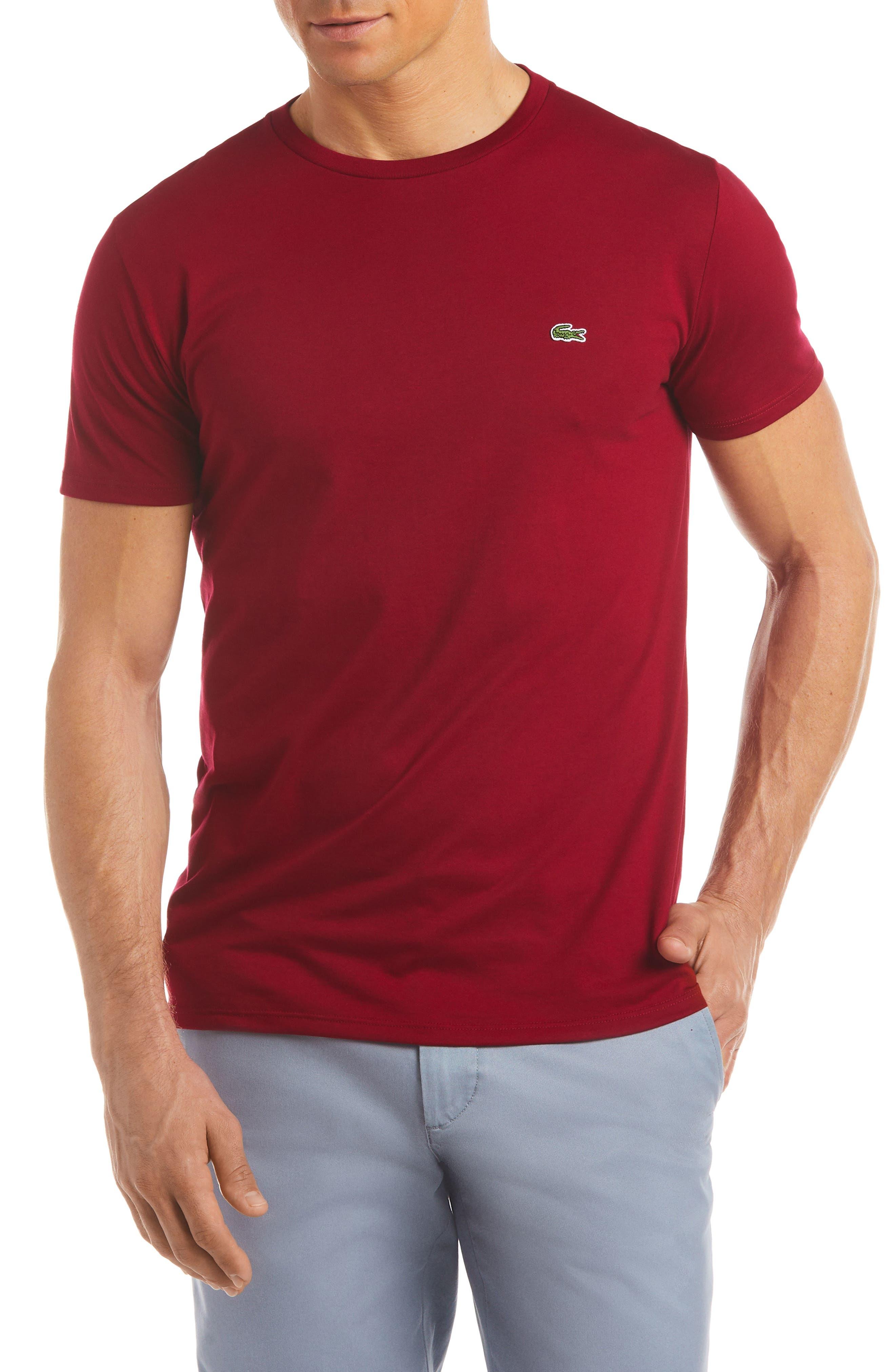 Lacoste Crewneck Cotton T-Shirt
