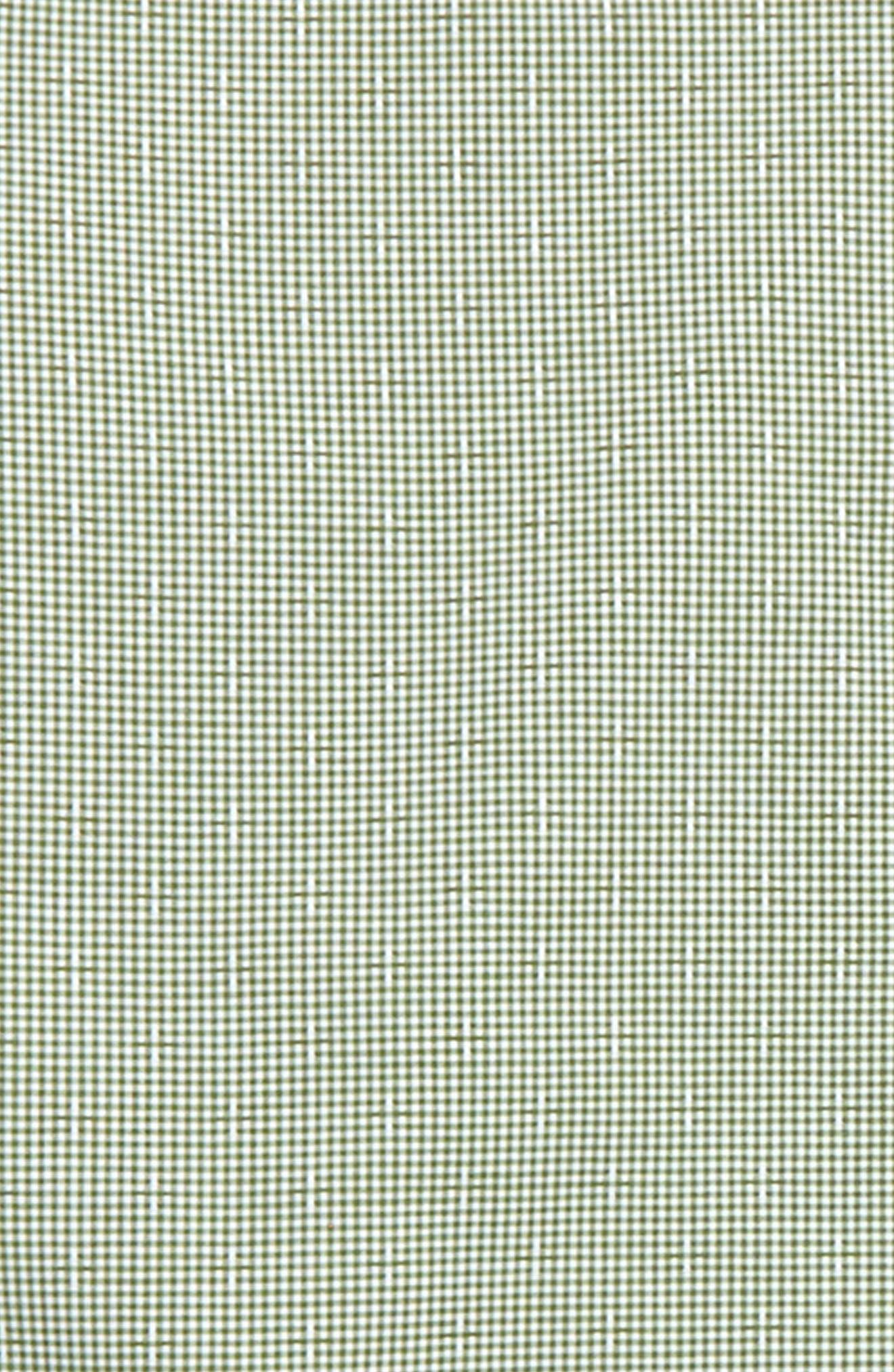 Microcheck Dress Shirt,                             Alternate thumbnail 2, color,                             Green