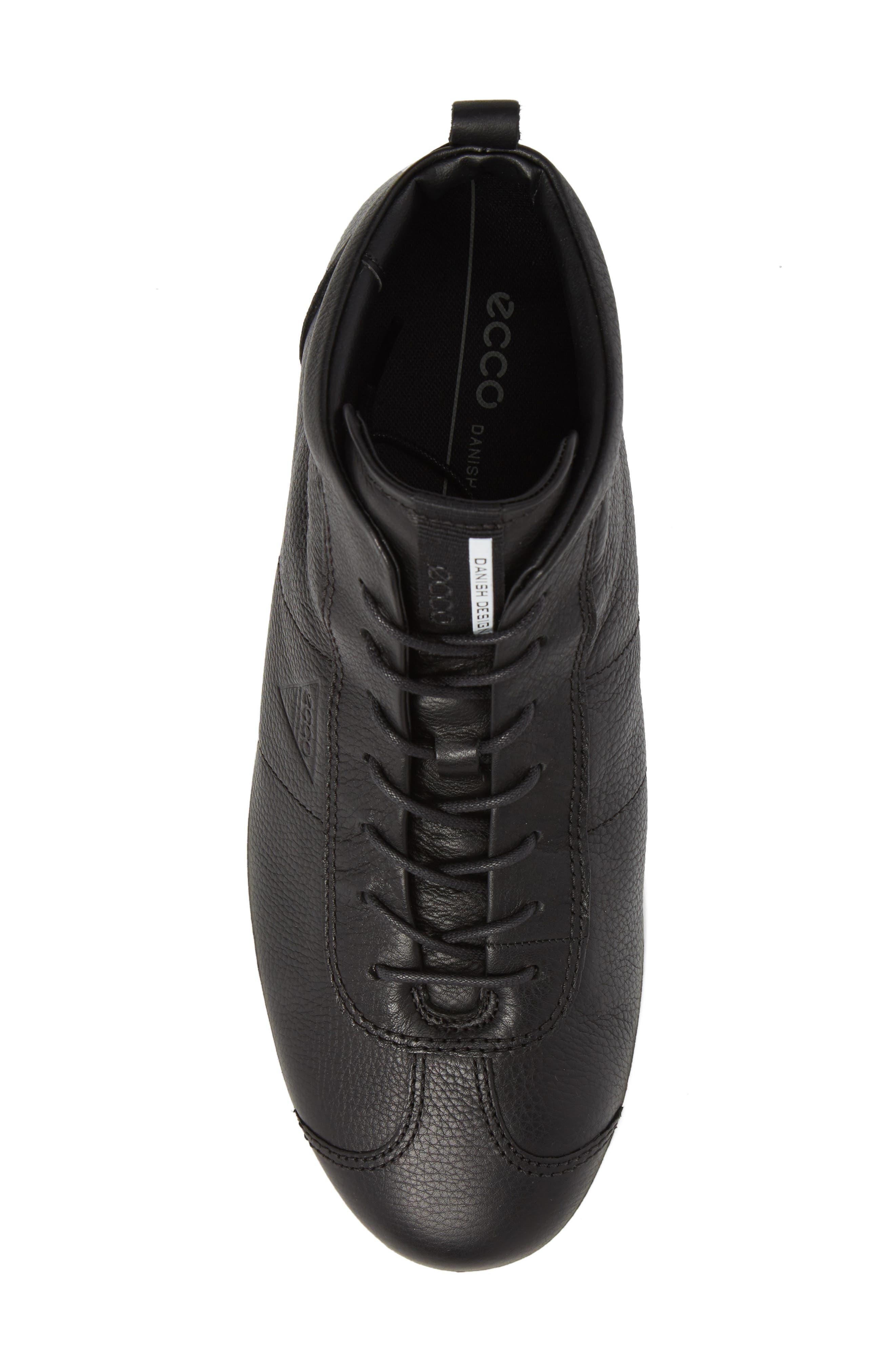 Alternate Image 5  - ECCO Soft 1 High Top Sneaker (Men)