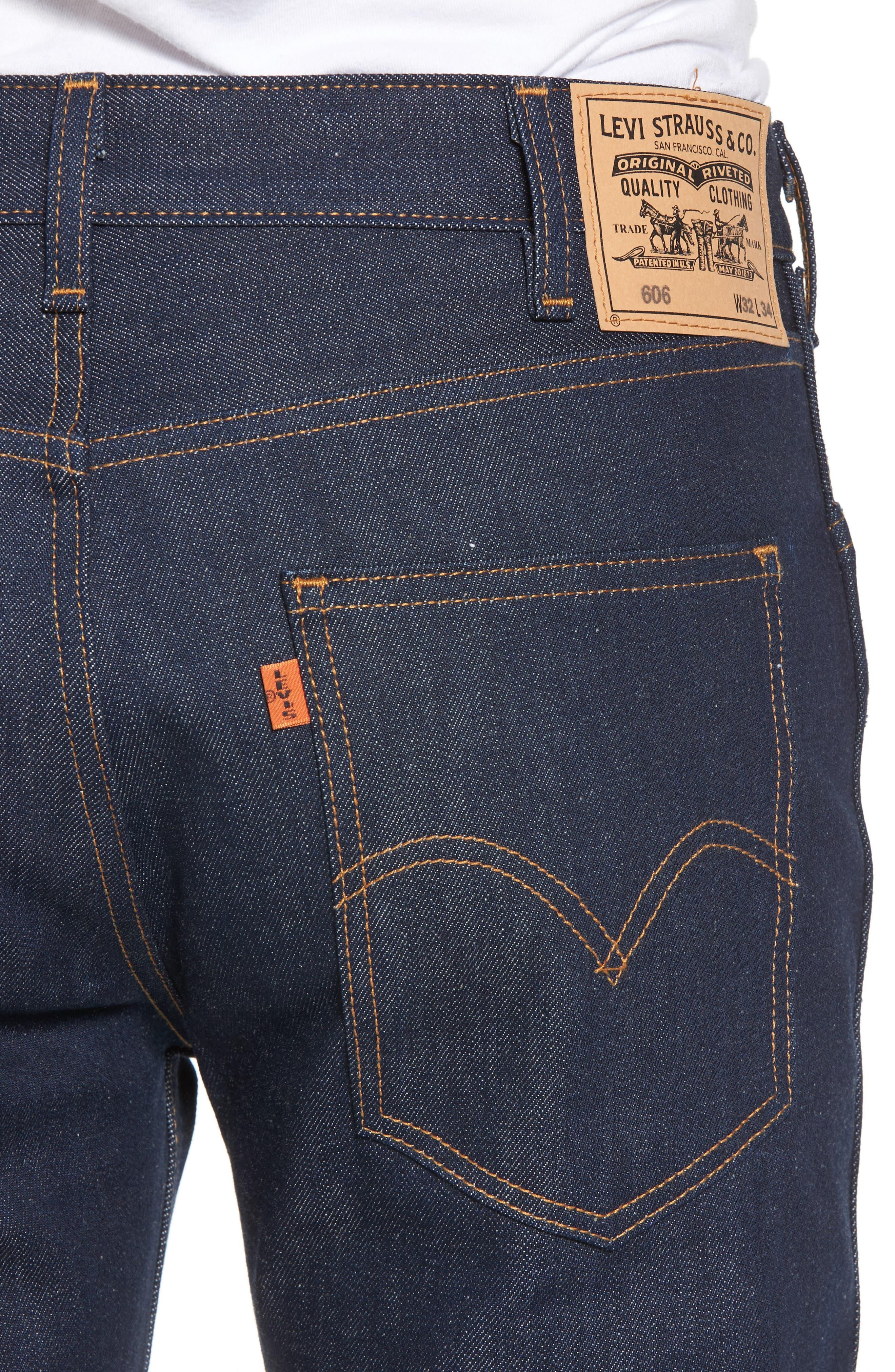 1969 606<sup>™</sup> Slim Fit Jeans,                             Alternate thumbnail 4, color,                             Rigid M8017