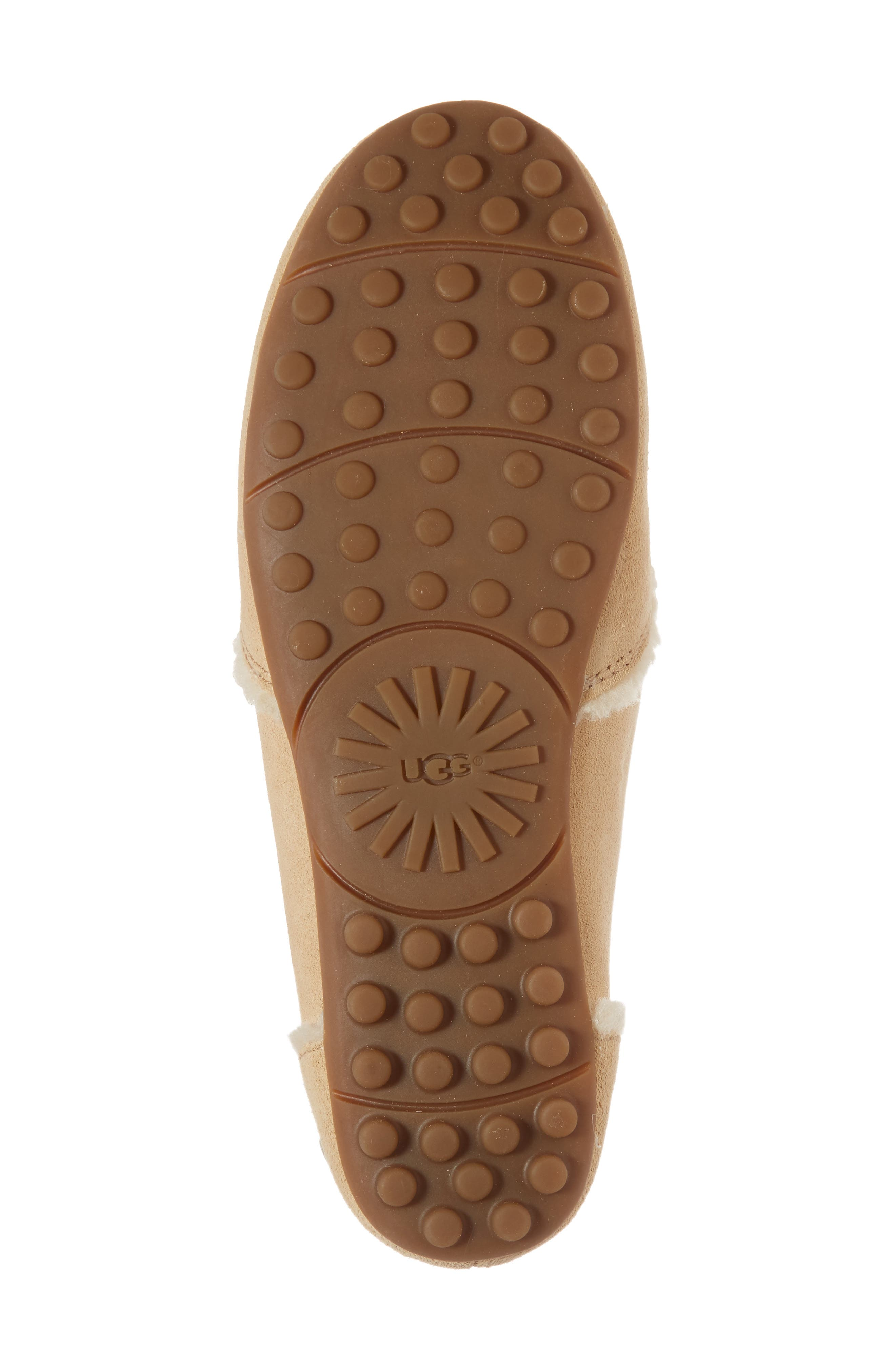Hailey Slipper,                             Alternate thumbnail 6, color,                             Beige Suede