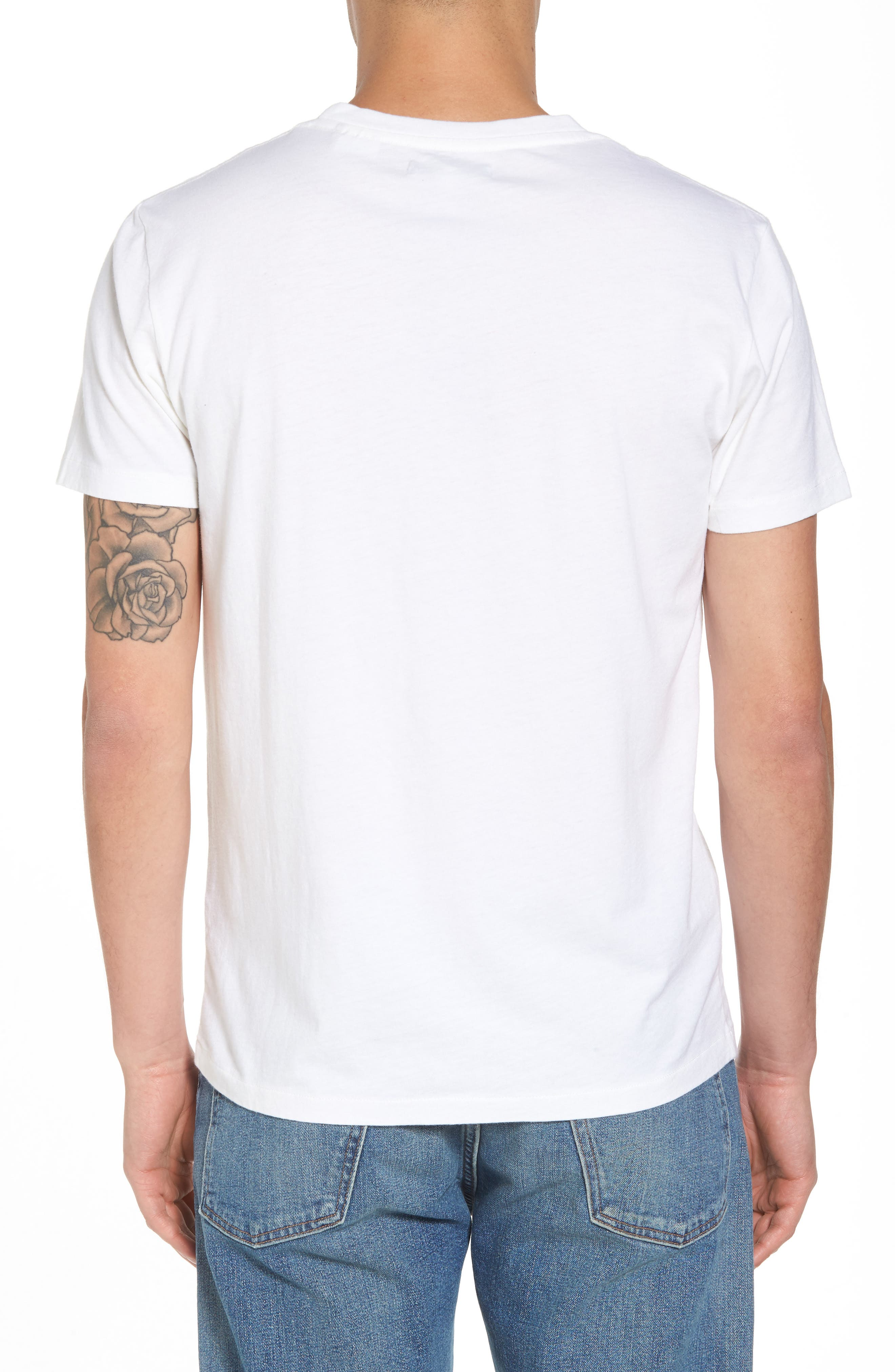 Graphic Pocket T-Shirt,                             Alternate thumbnail 2, color,                             All Over Sunrise Blue