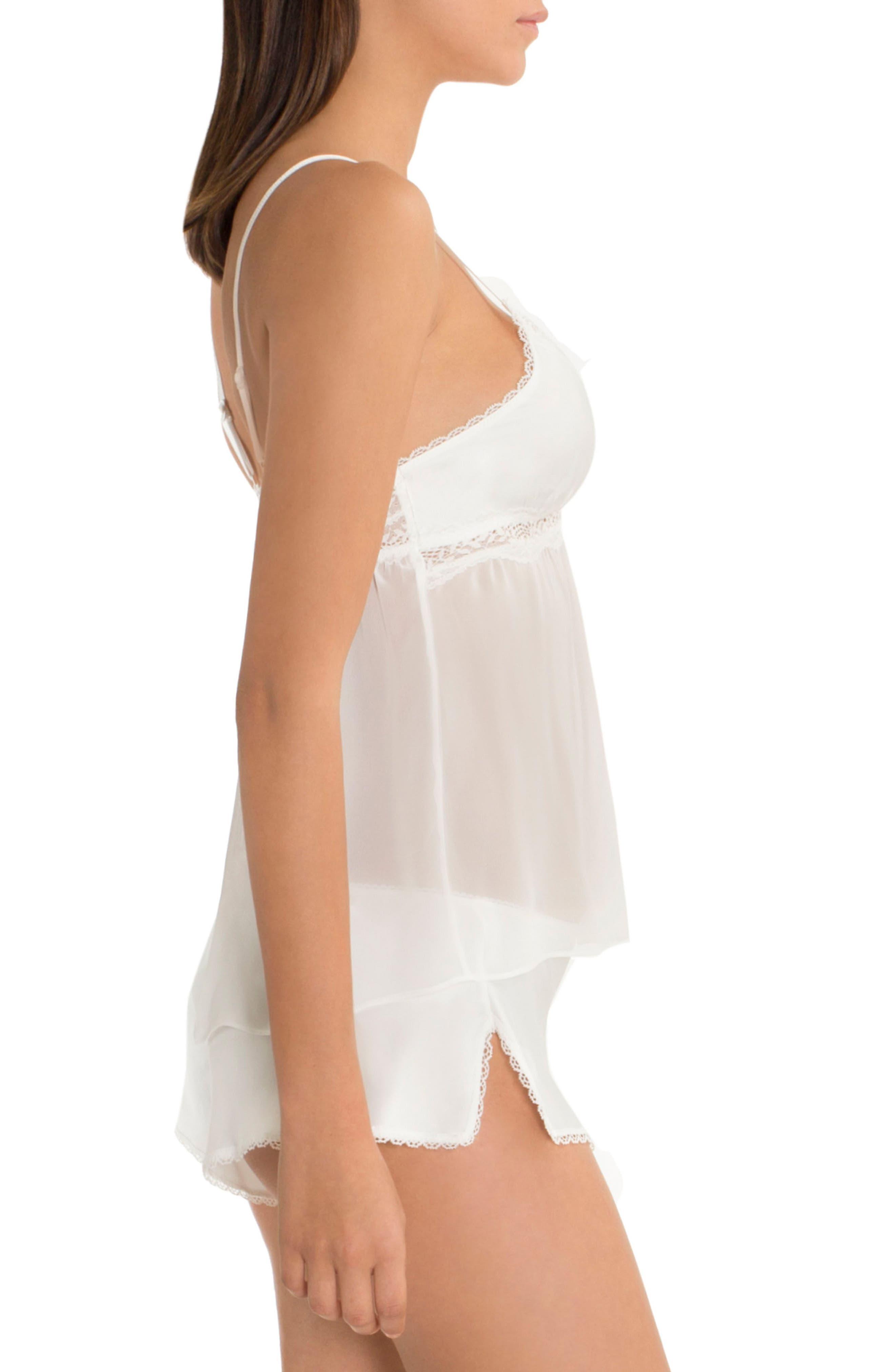Marble Wash Pajamas,                             Alternate thumbnail 3, color,                             Off White