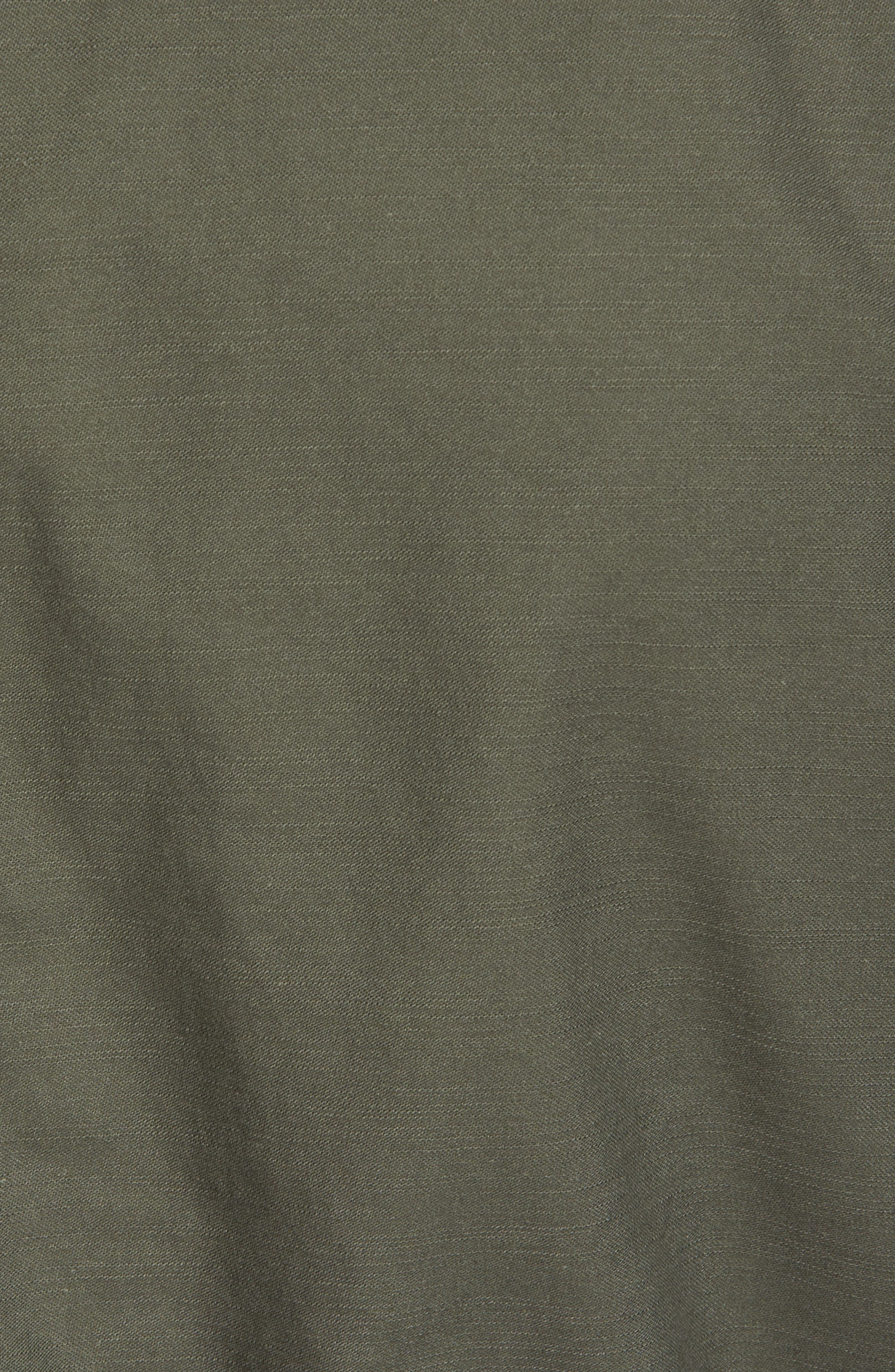 Recruit Fishtail Jacket,                             Alternate thumbnail 5, color,                             M-65 Olive