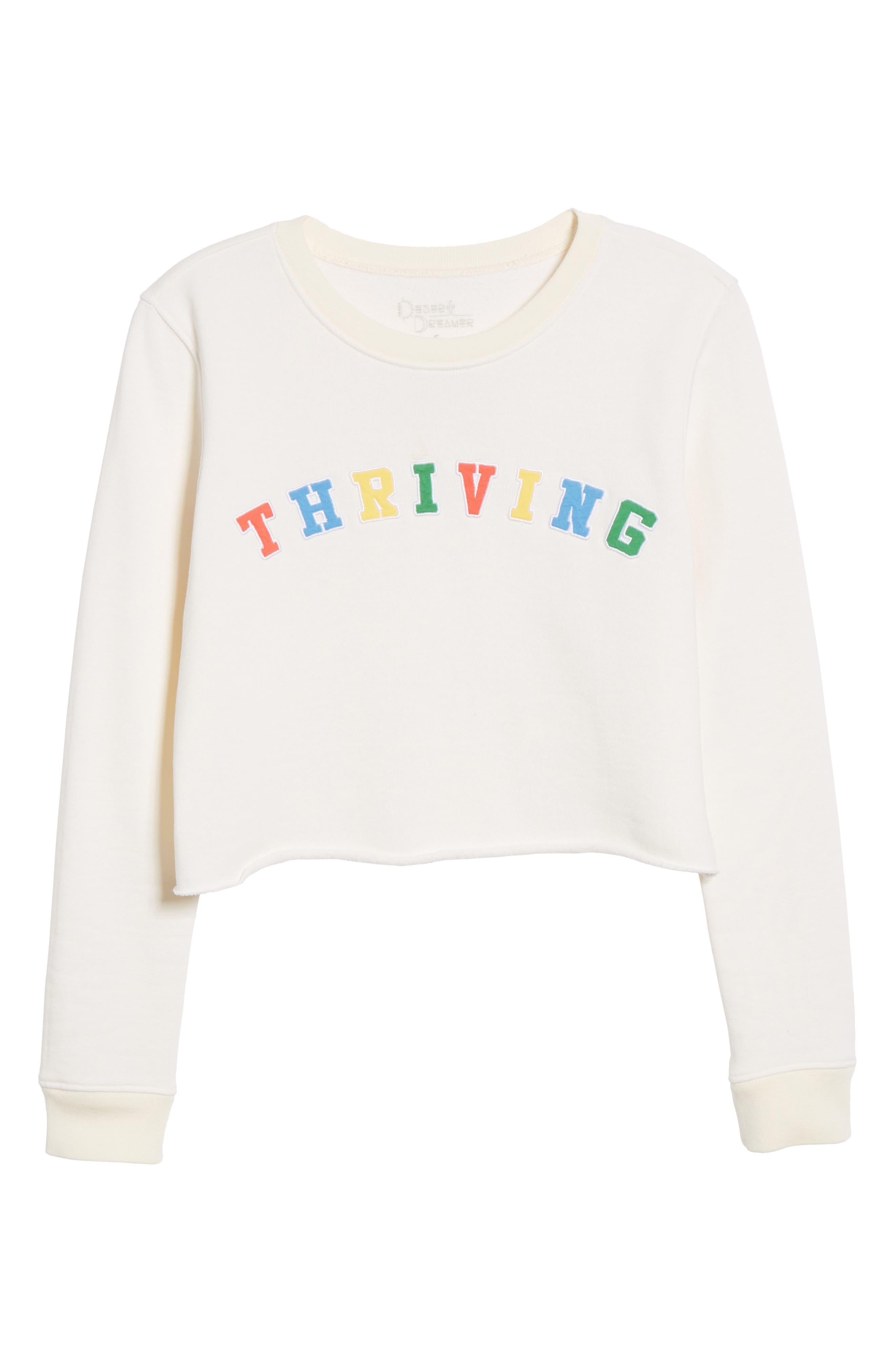 Alternate Image 6  - Desert Dreamer Thriving Crop Sweatshirt