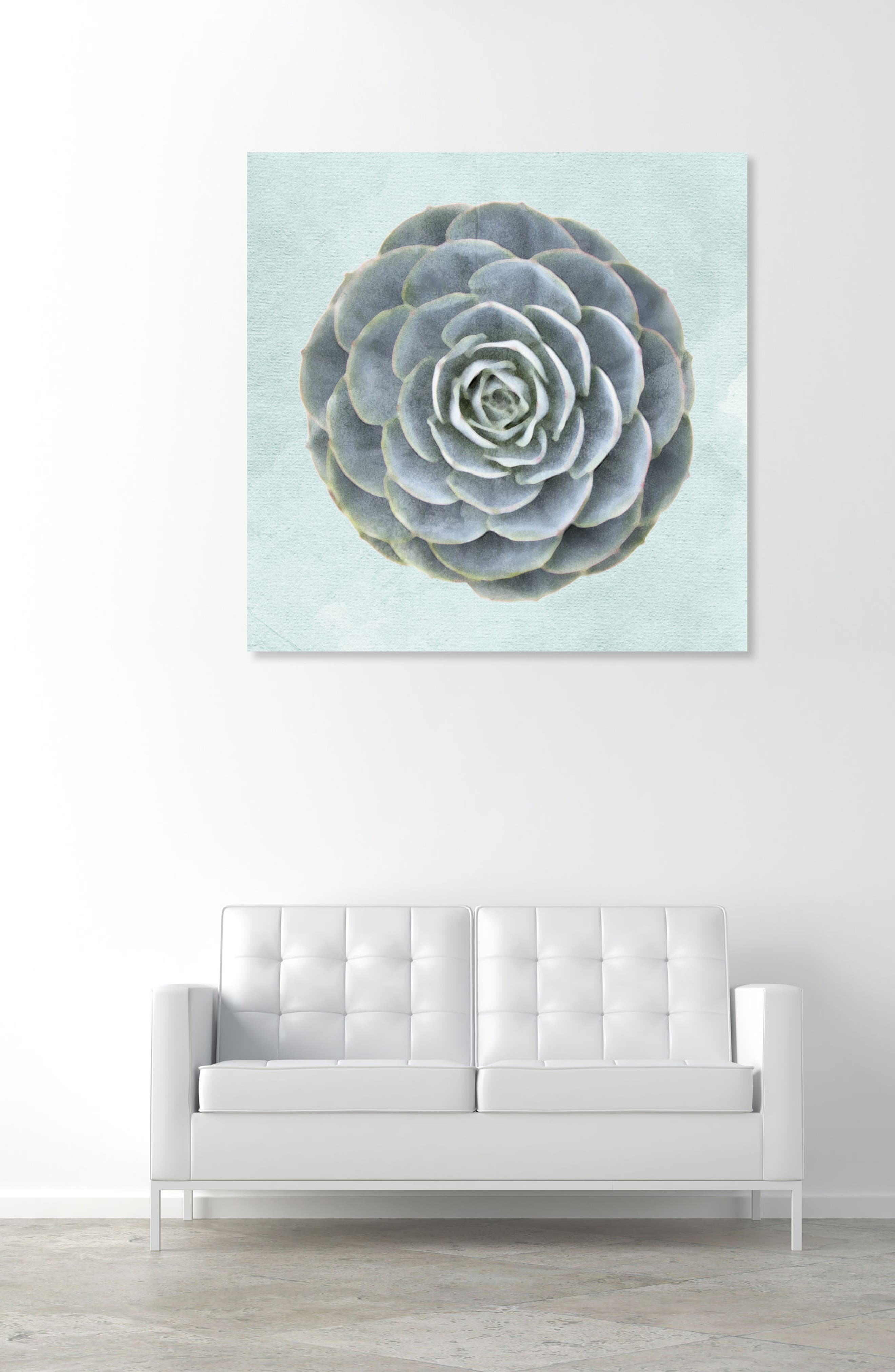 Alternate Image 2  - Oliver Gal Succulent Dream II Canvas Wall Art