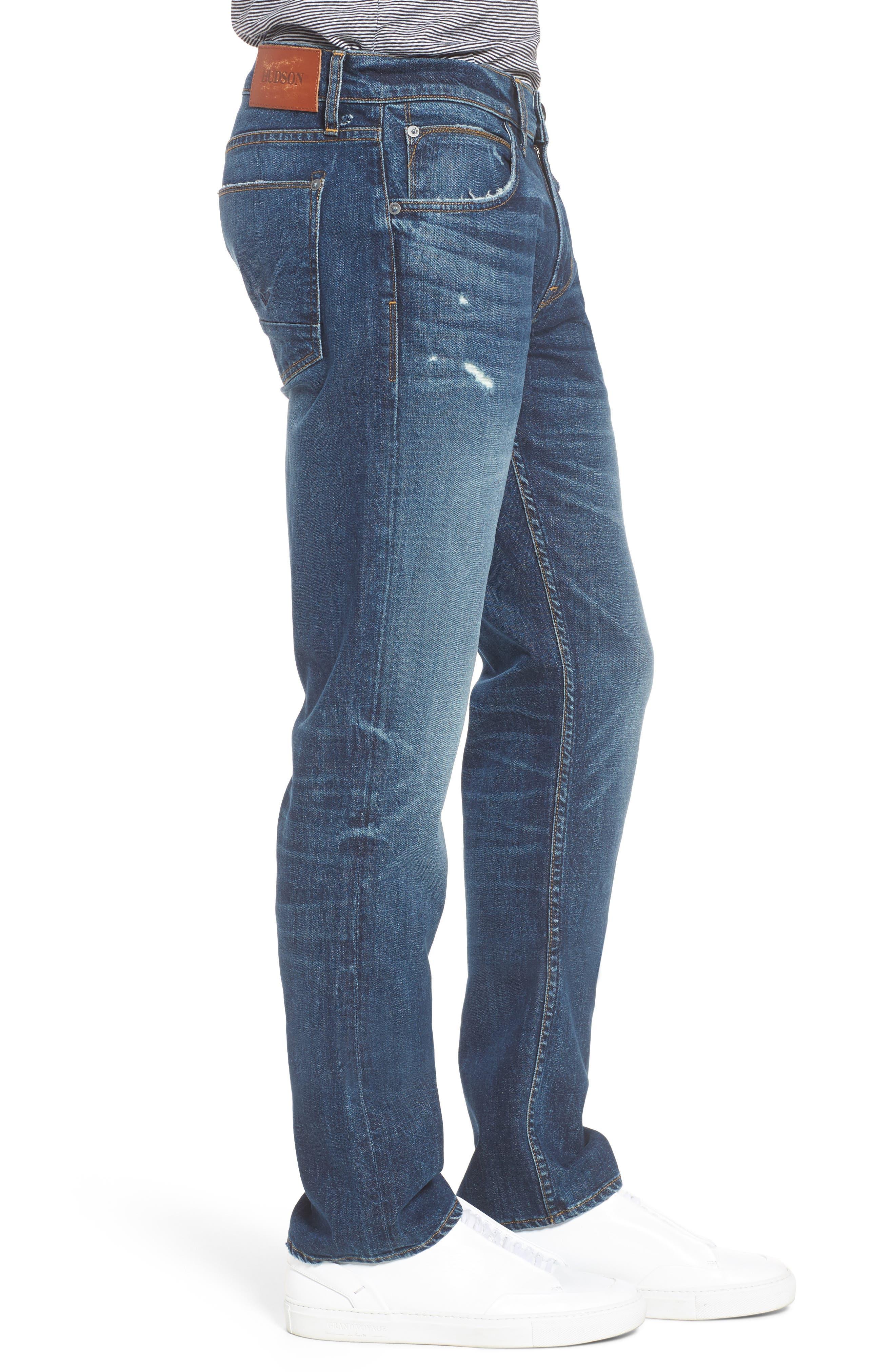 Byron Slim Straight Leg Jeans,                             Alternate thumbnail 3, color,                             Shuvit