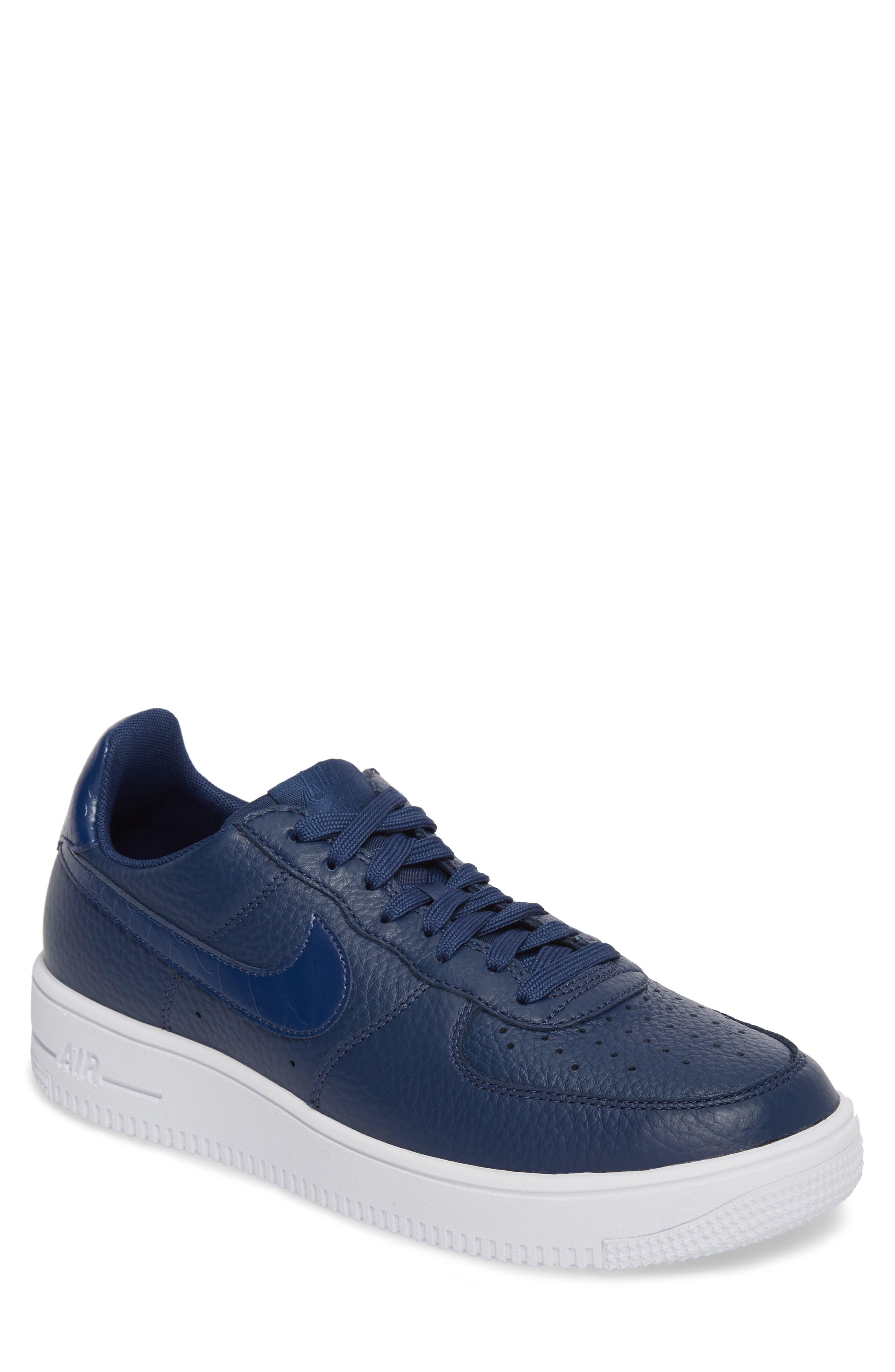 Air Force 1 Ultraforce Sneaker,                         Main,                         color, Navy/ Navy/ White