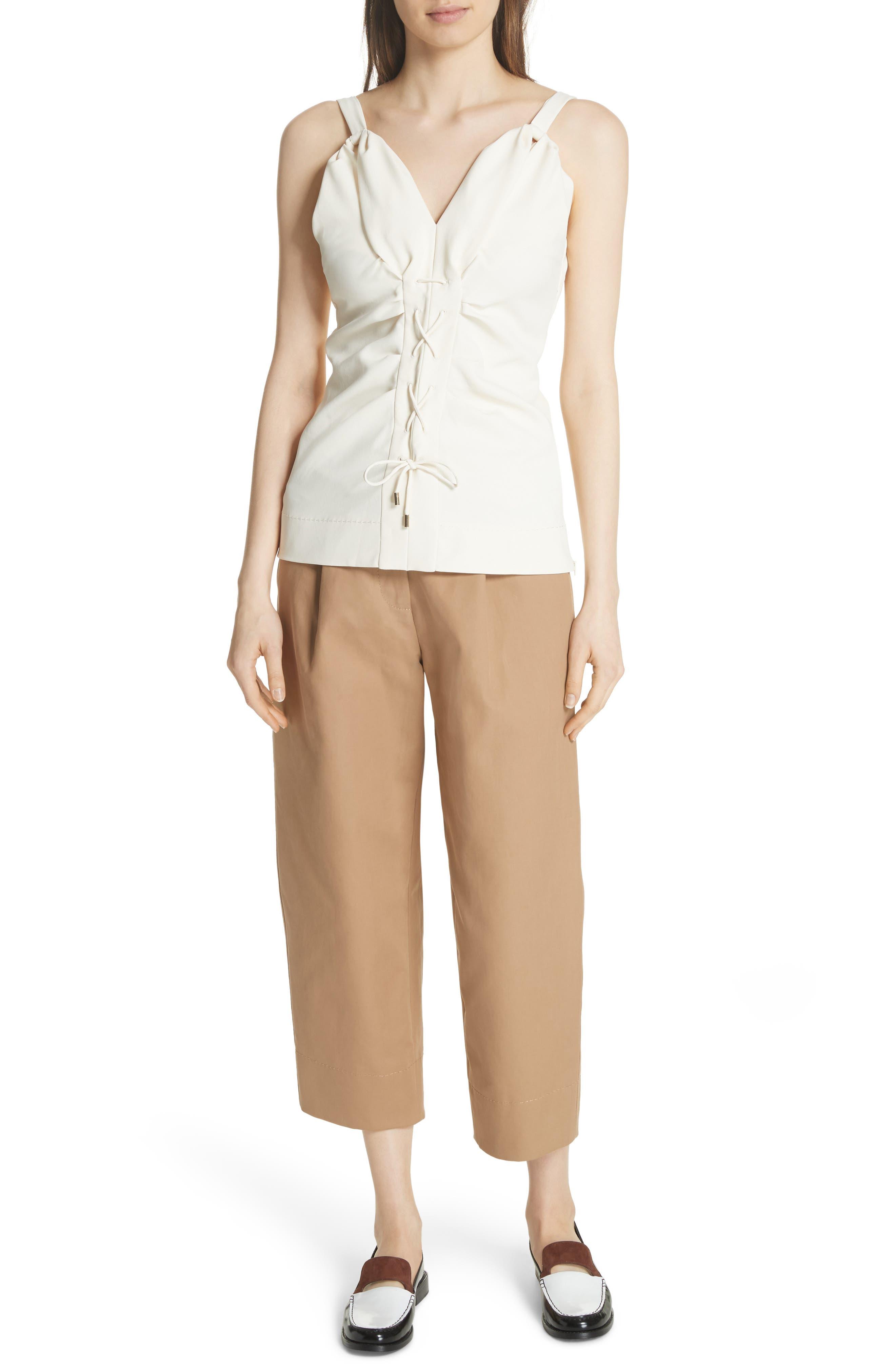 Alternate Image 6  - Carven Cotton Crop Pants