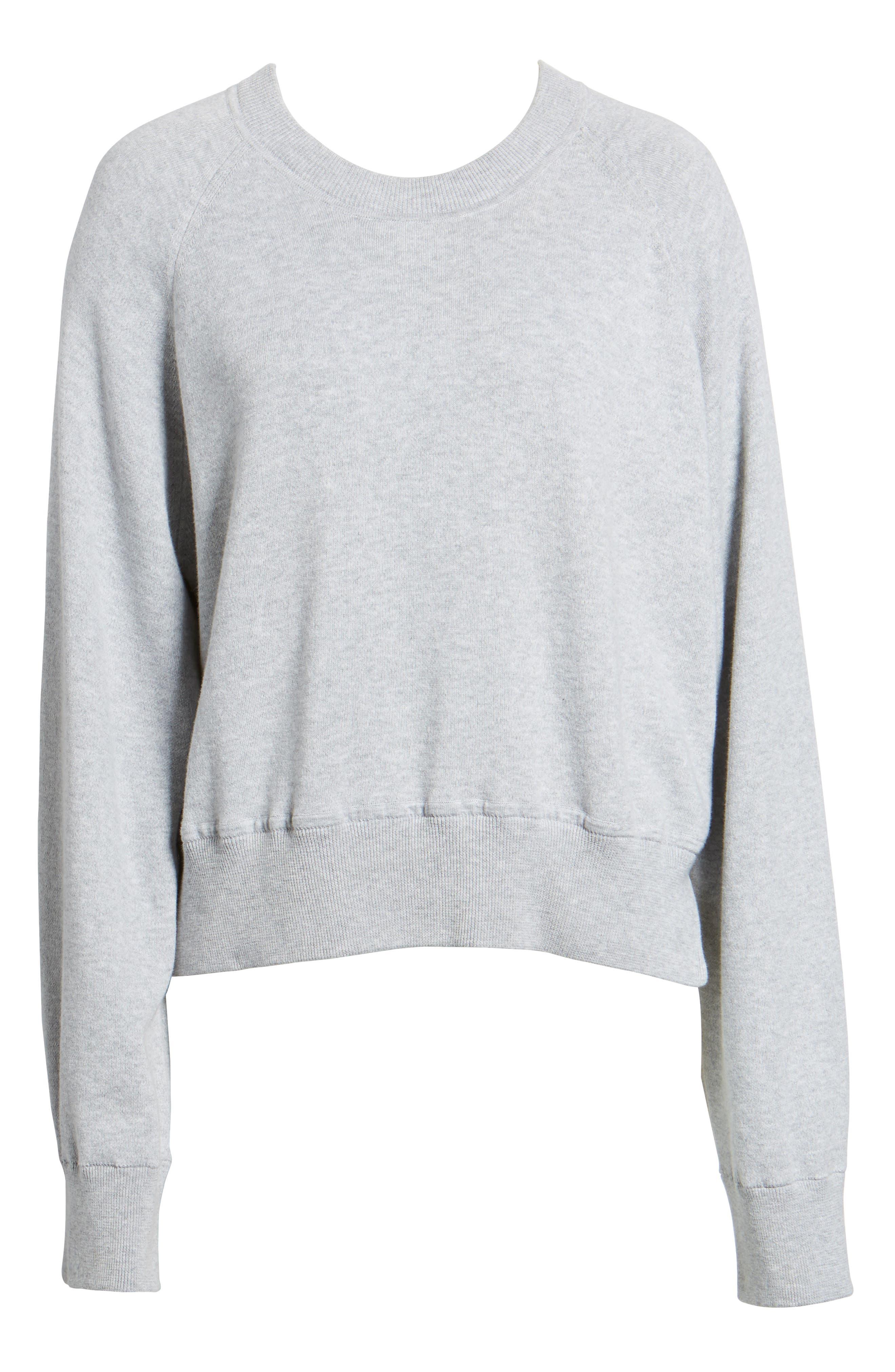 Lea Sweatshirt,                             Alternate thumbnail 6, color,                             Grey