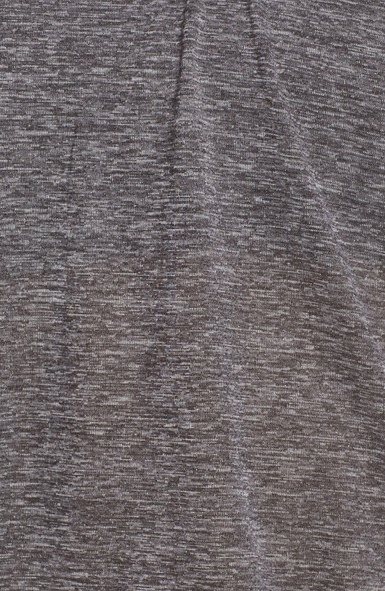 Layered Sport Tankini Top,                             Alternate thumbnail 5, color,                             Black