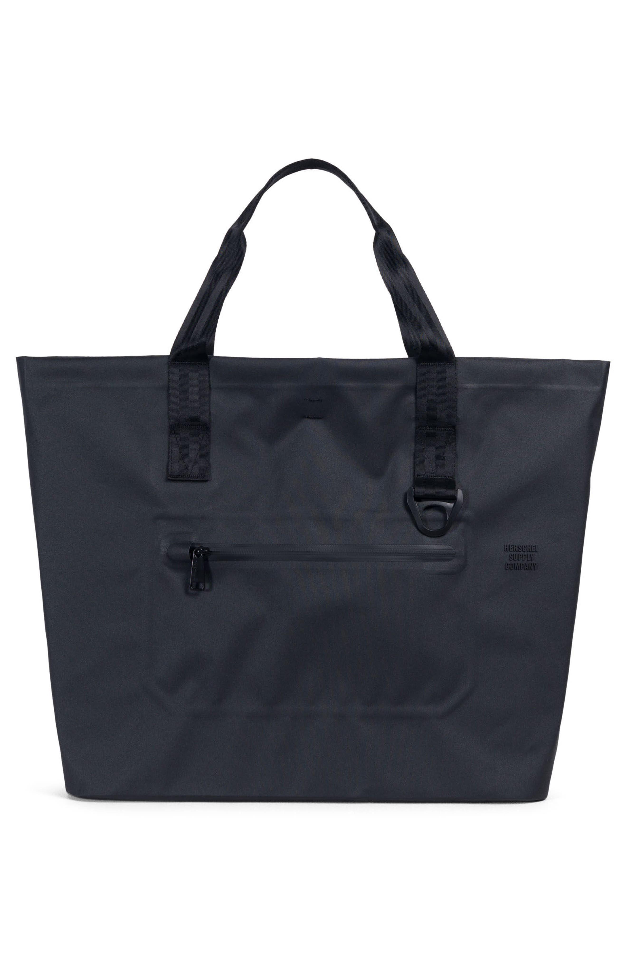 Tarpaulin Alexander Studio Tote Bag,                             Alternate thumbnail 2, color,                             Black
