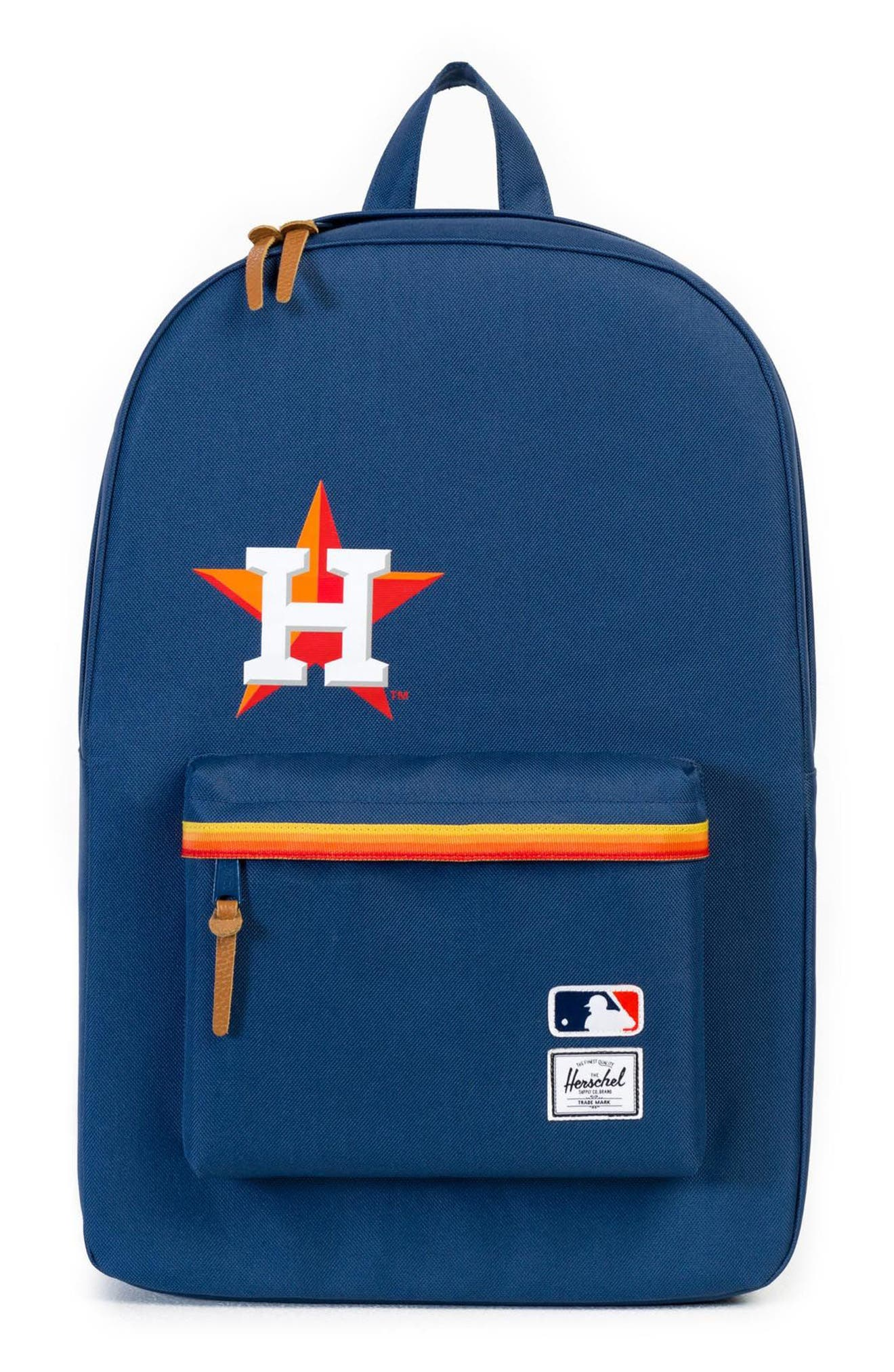 Heritage - MLB American League Backpack,                             Main thumbnail 1, color,                             Houston Astros