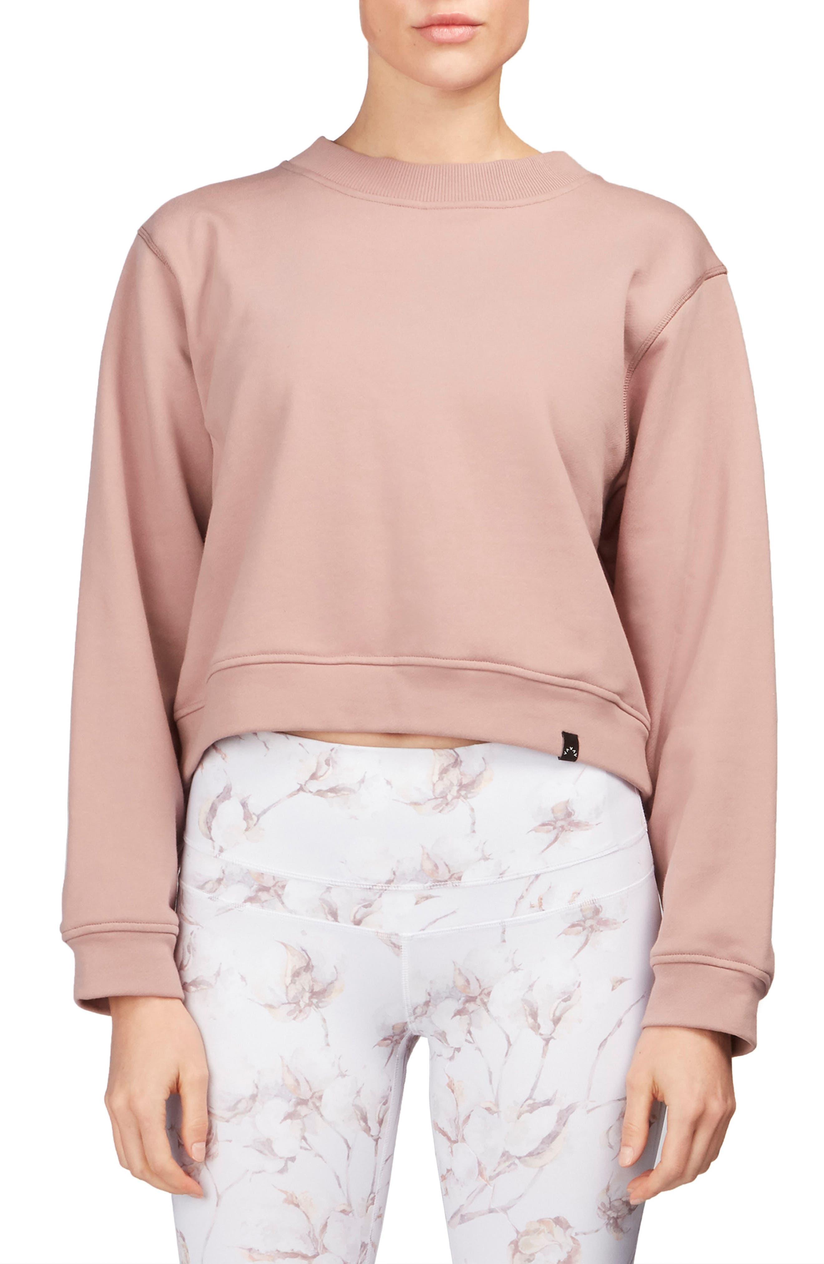Albata Sweatshirt,                         Main,                         color, Lilac