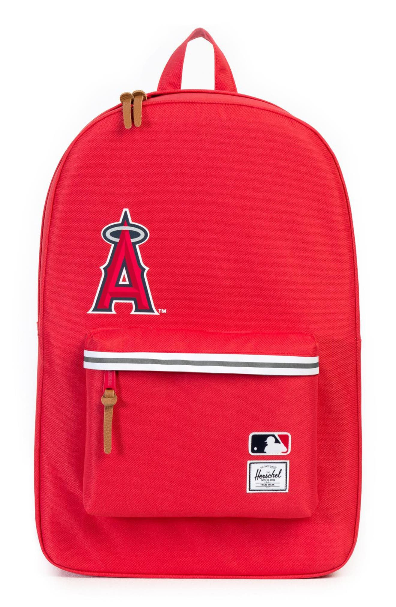Heritage - MLB American League Backpack,                             Main thumbnail 1, color,                             Los Angeles Angels